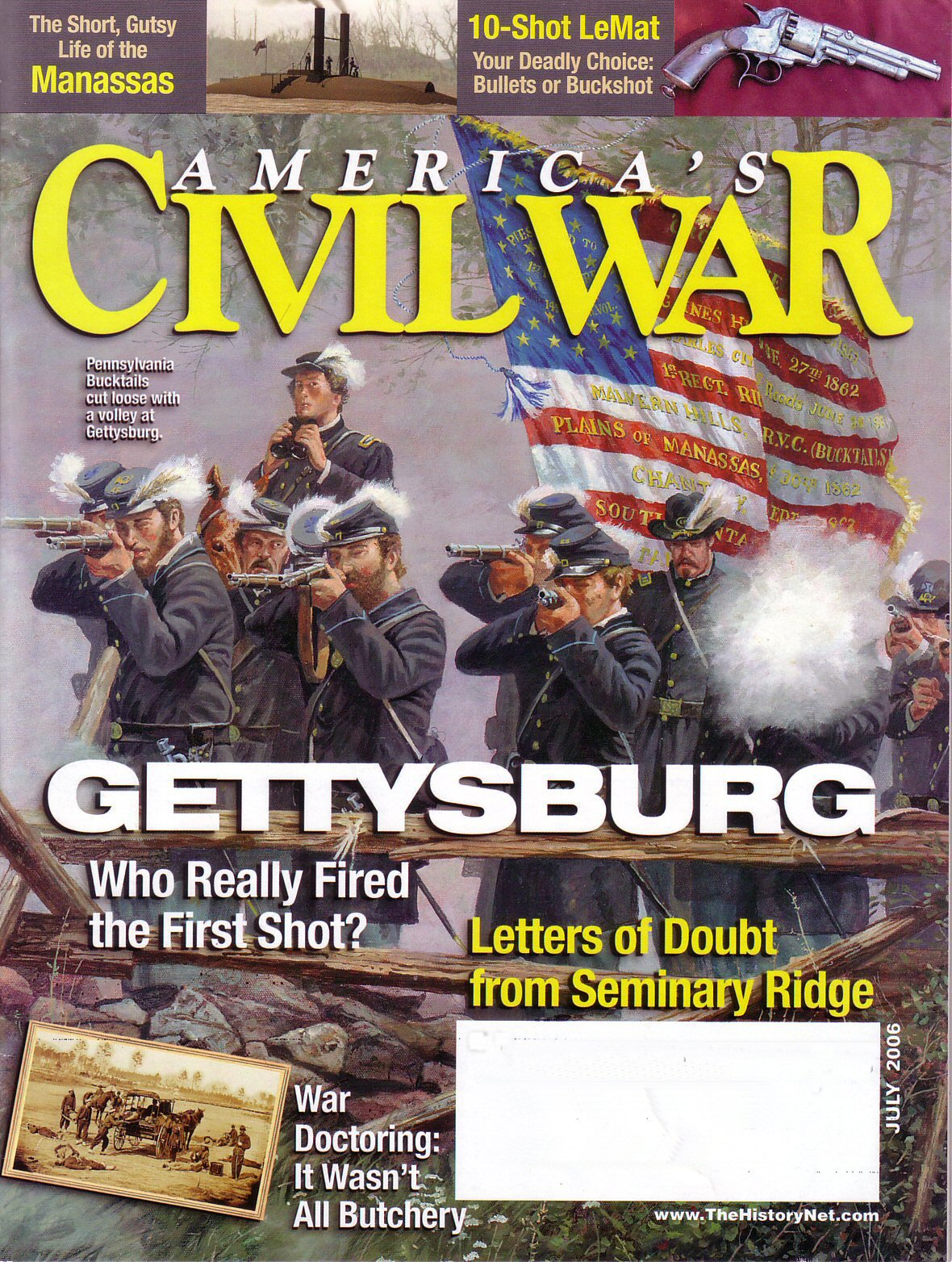 Americas Civil War, Volume 19, Number 3 (July 2006)