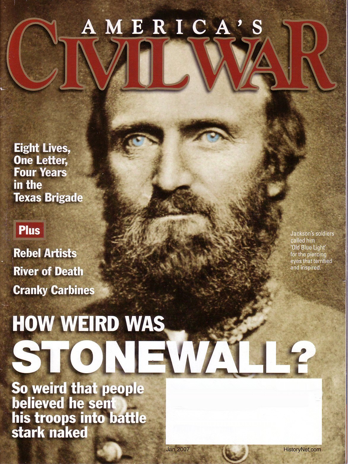 Americas Civil War, Volume 19, Number 6 (January 2007)
