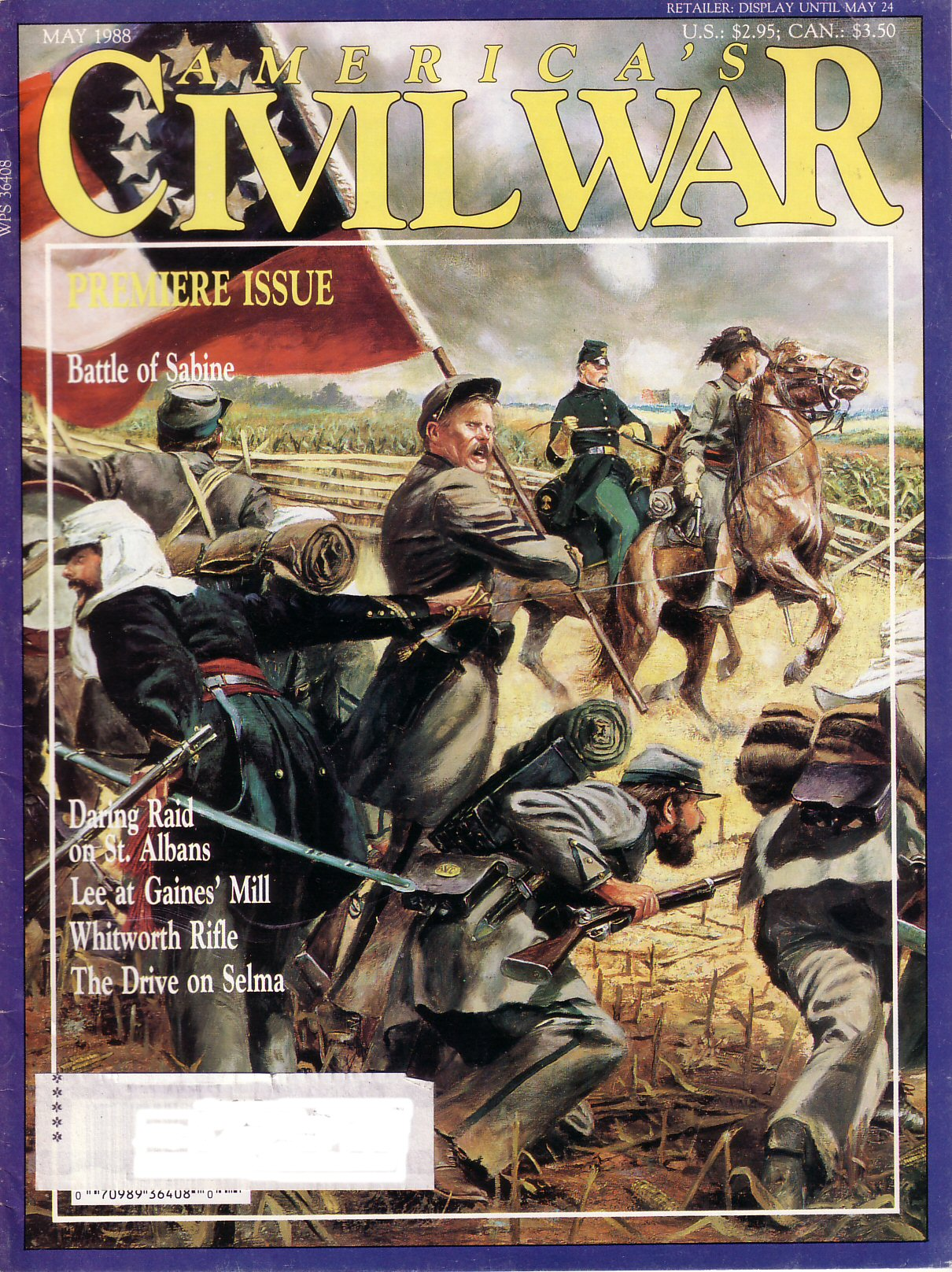 Americas Civil War, Volume 1, Number 1 (May 1988)