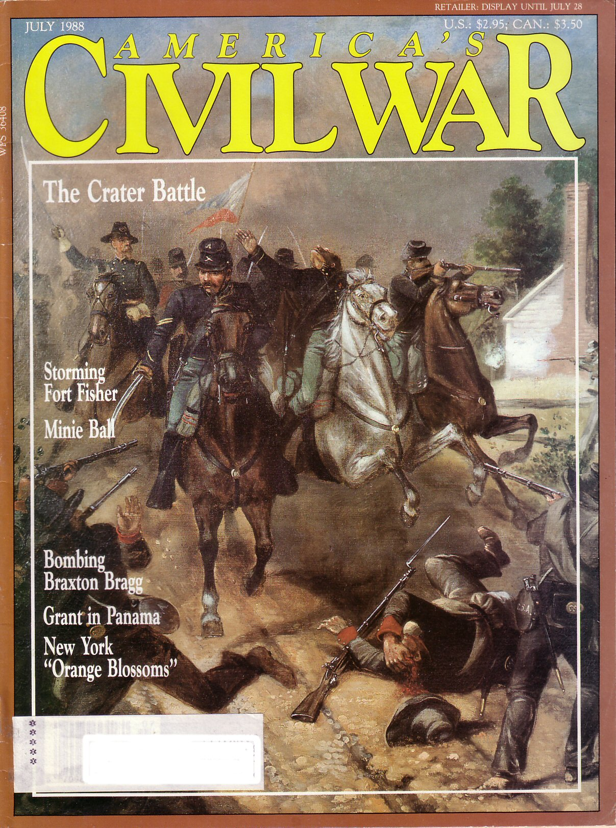 Americas Civil War, Volume 1, Number 2