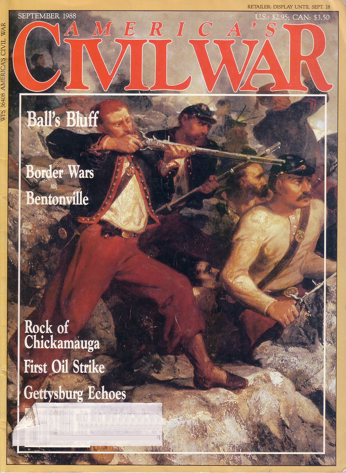 Americas Civil War, Volume 1, Number 3 (September 1988)