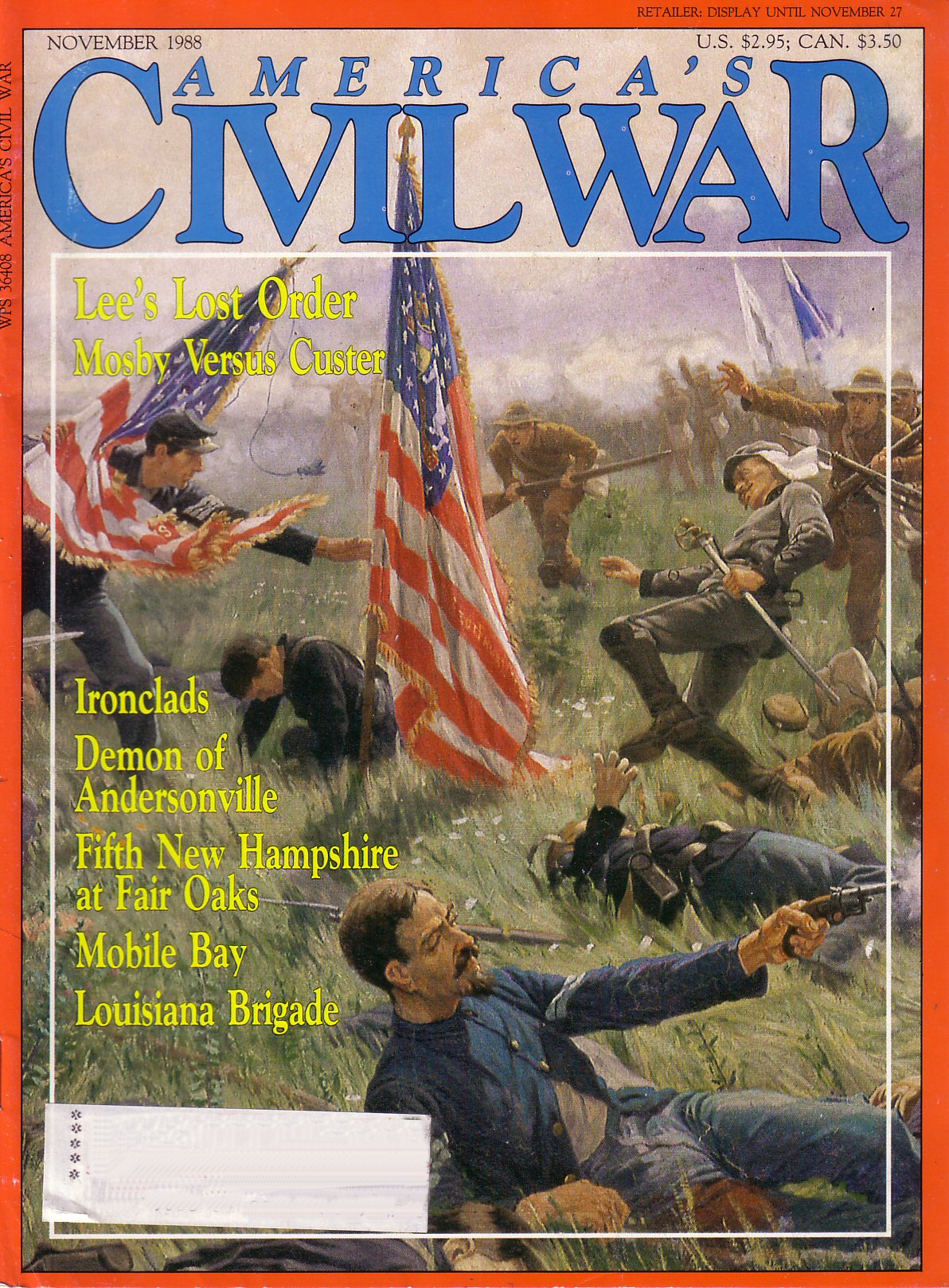 Americas Civil War, Volume 1, Number 4 (November 1998)