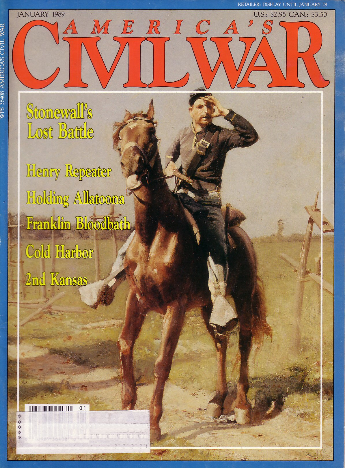 Americas Civil War, Volume 1, Number 5 (January 1989)