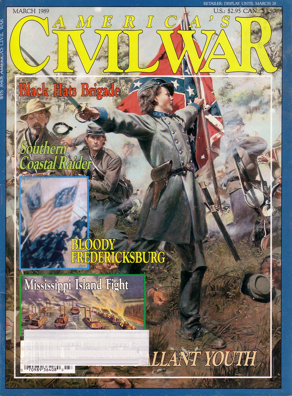 Americas Civil War, Volume 1, Number 6 (March 1989)