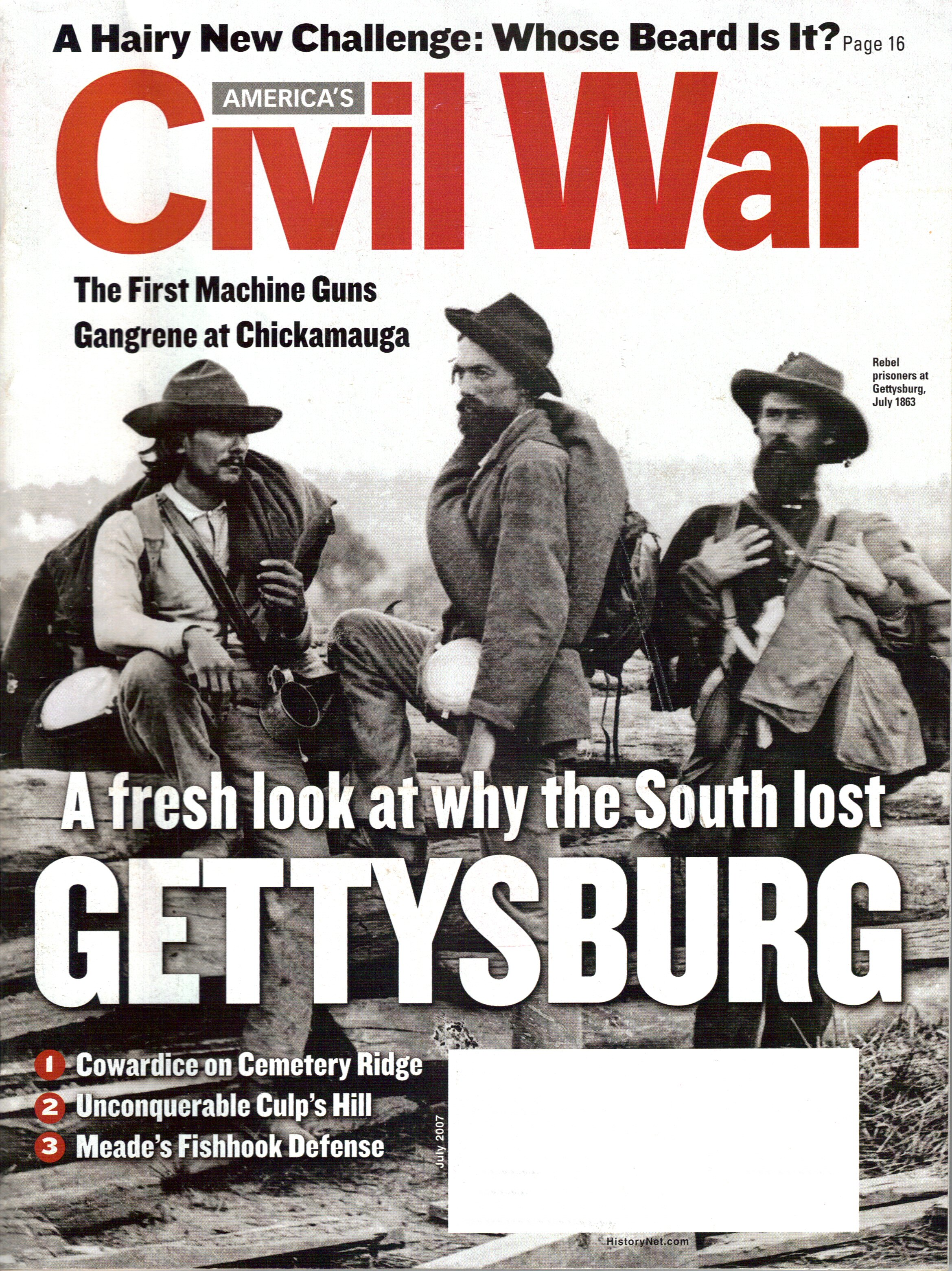Americas Civil War, Volume 20, Number 3 (July 2007)