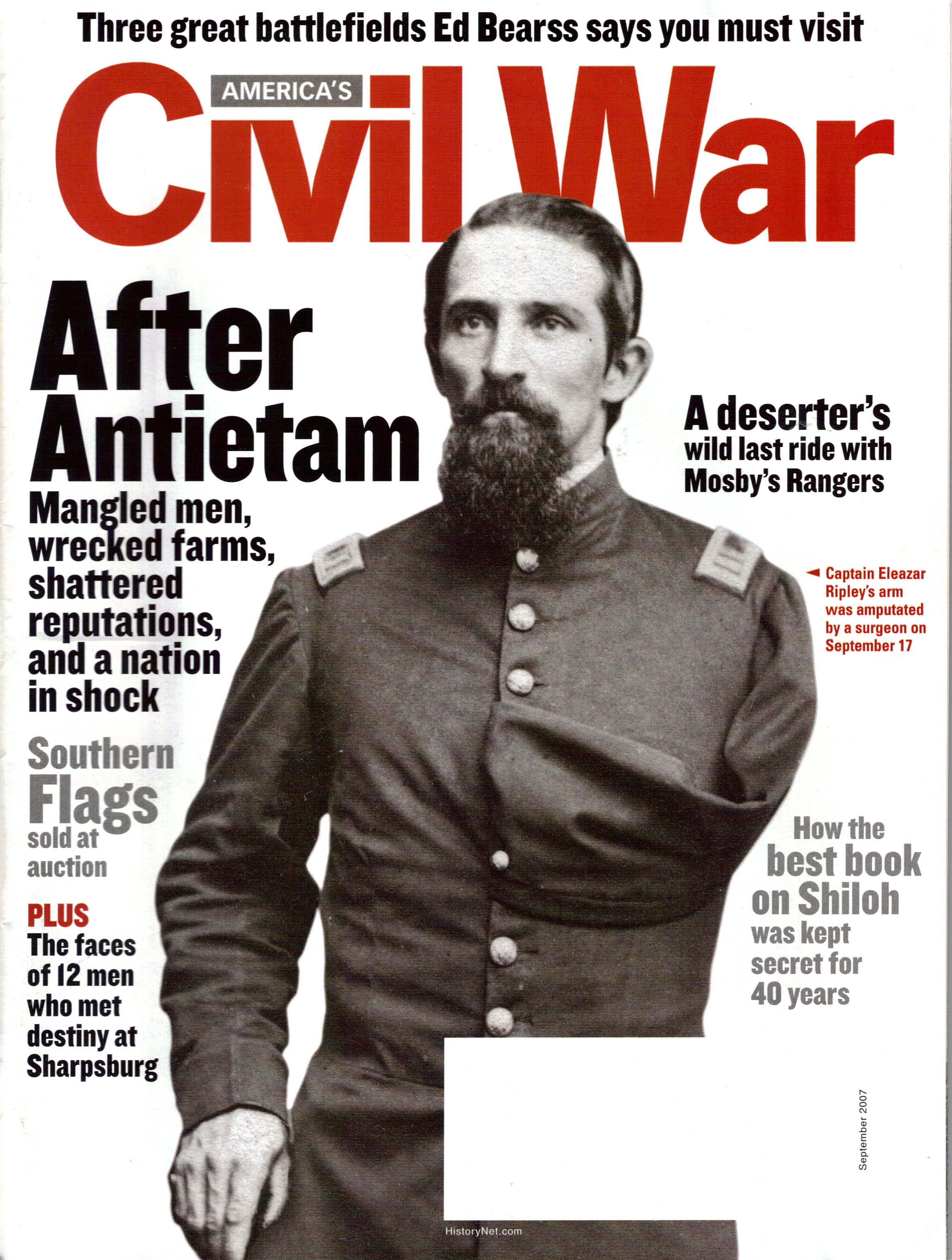 Americas Civil War, Volume 20, Number 4 (September 2007)