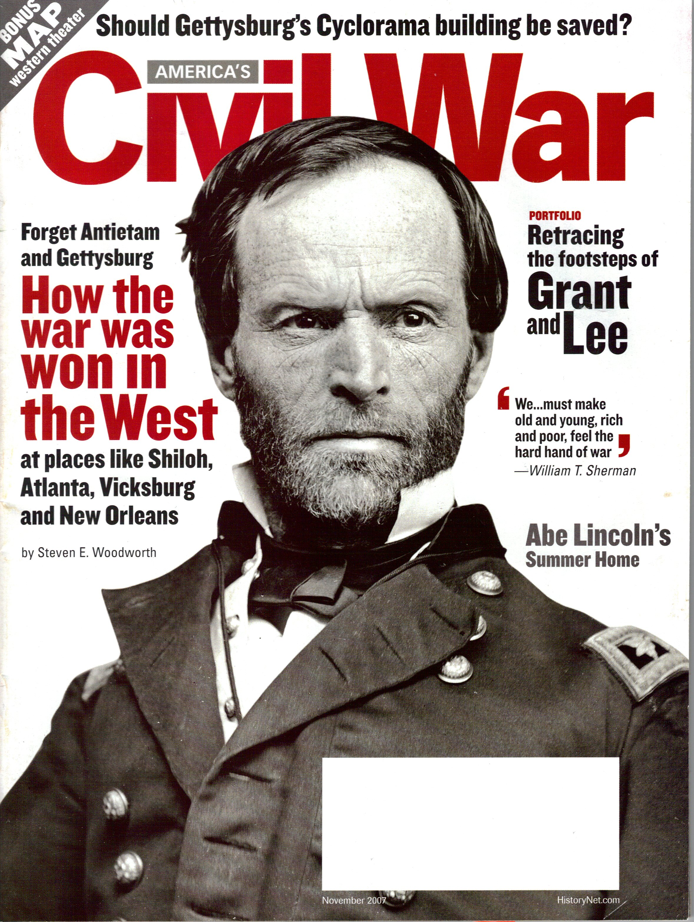 Americas Civil War, Volume 20, Number 5 (November 2007)