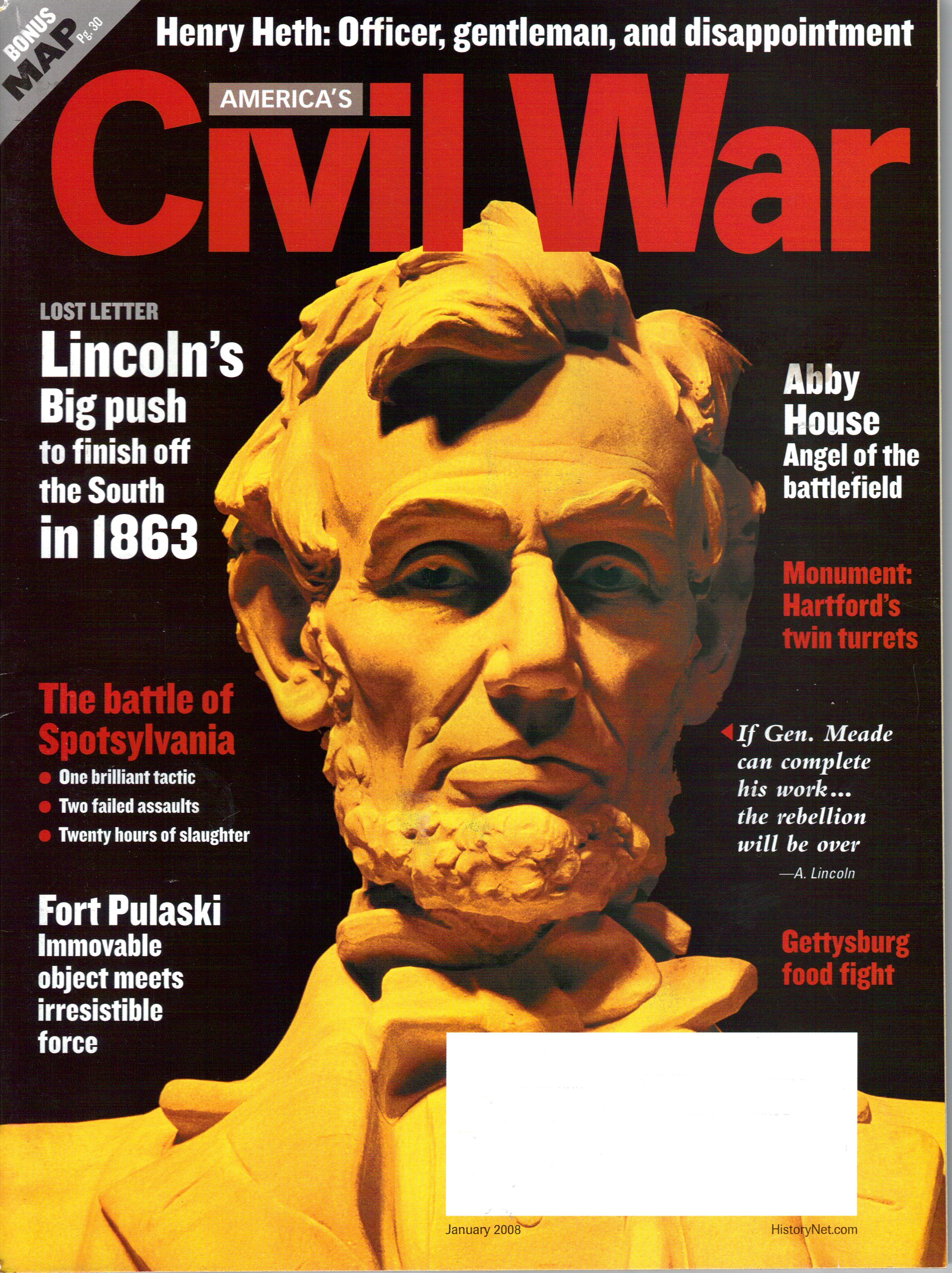 Americas Civil War, Volume 20, Number 6 (January 2008)