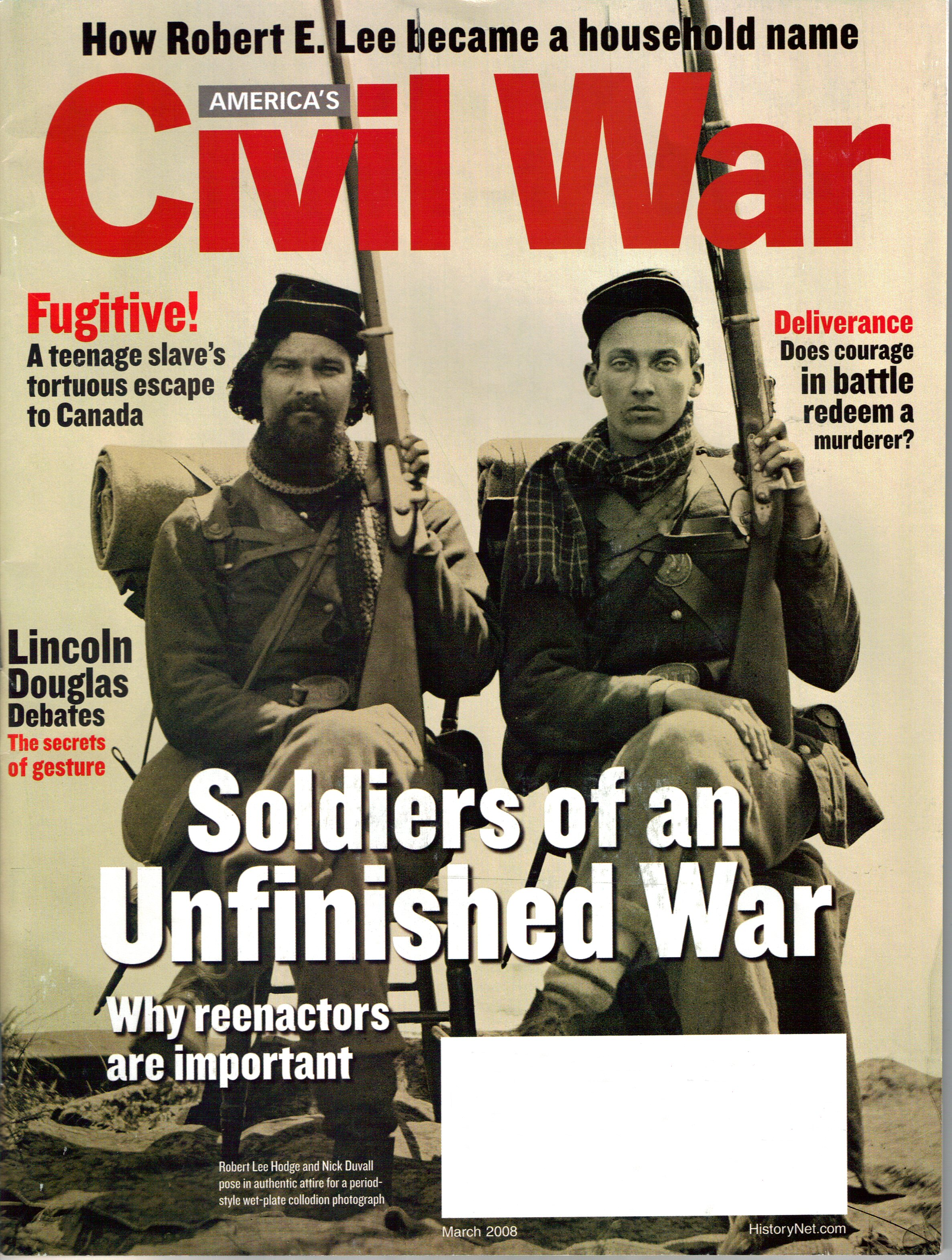 Americas Civil War, Volum 21, Number 1 (March 2008)
