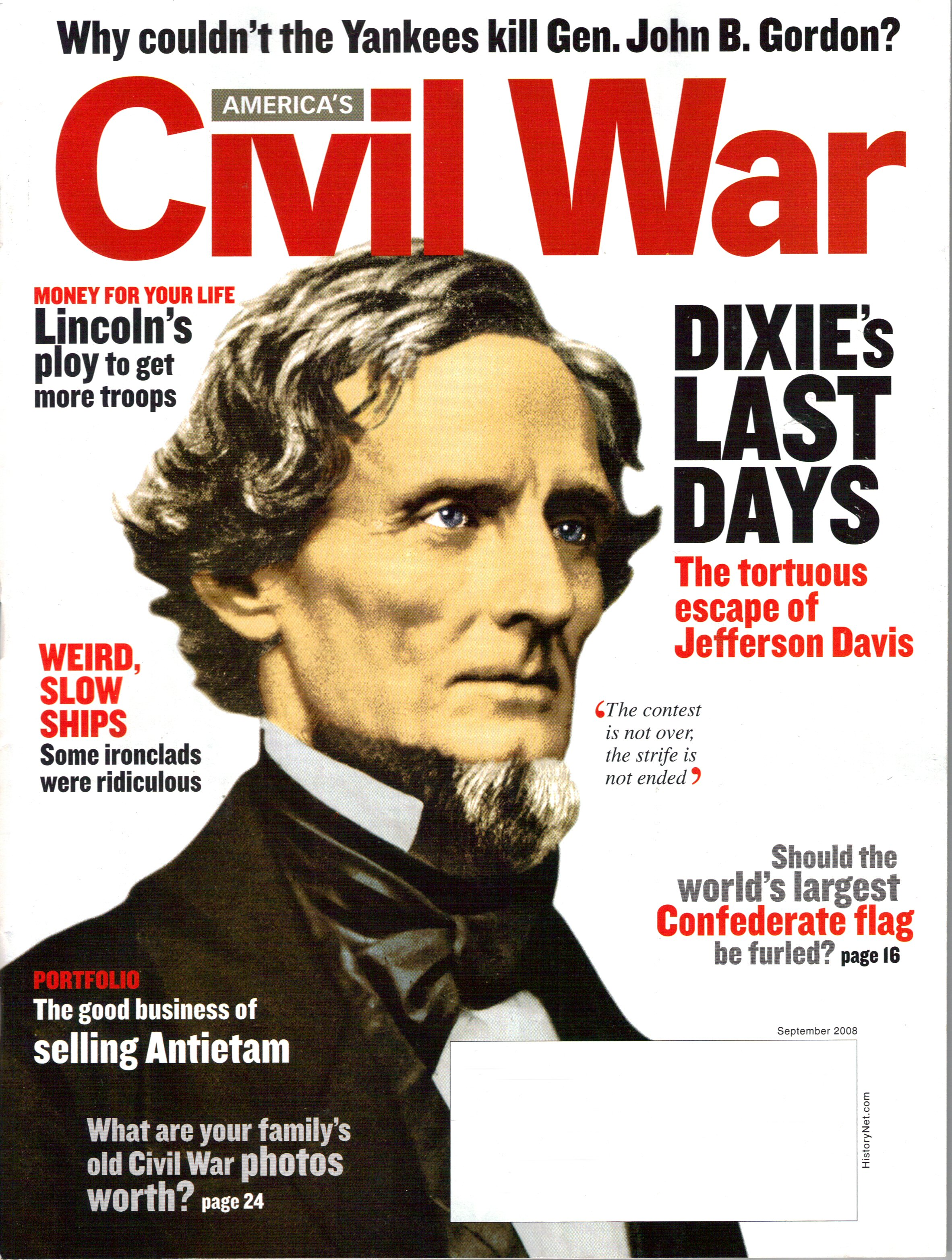 Americas Civil War, Volume 21, Number 4 (September 2008)