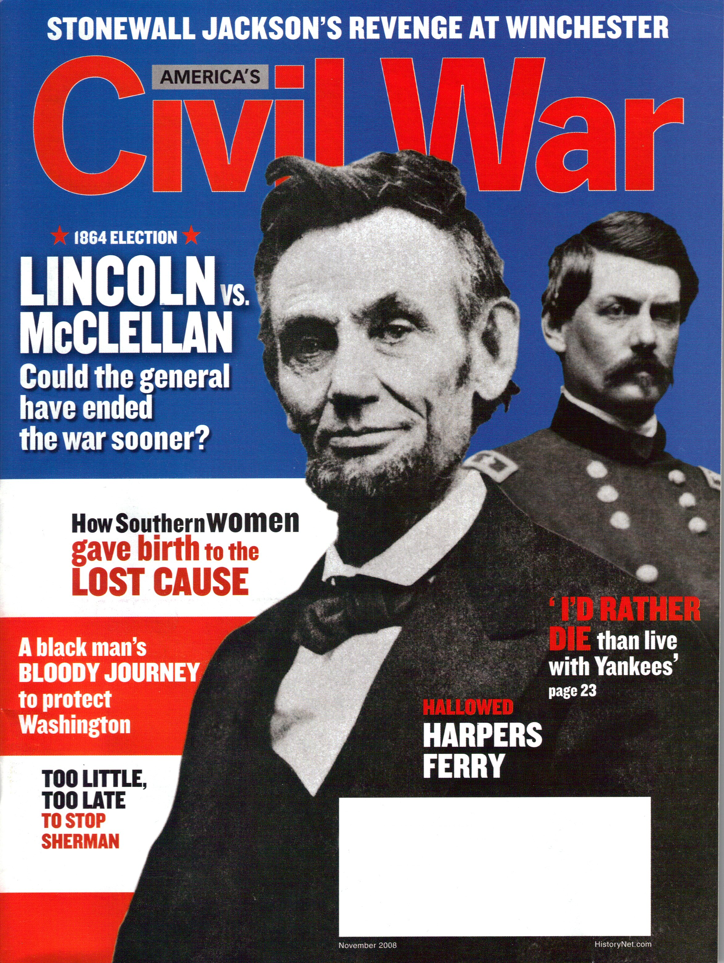 Americas Civil War, Volume 21, Number 5 (November 2008)