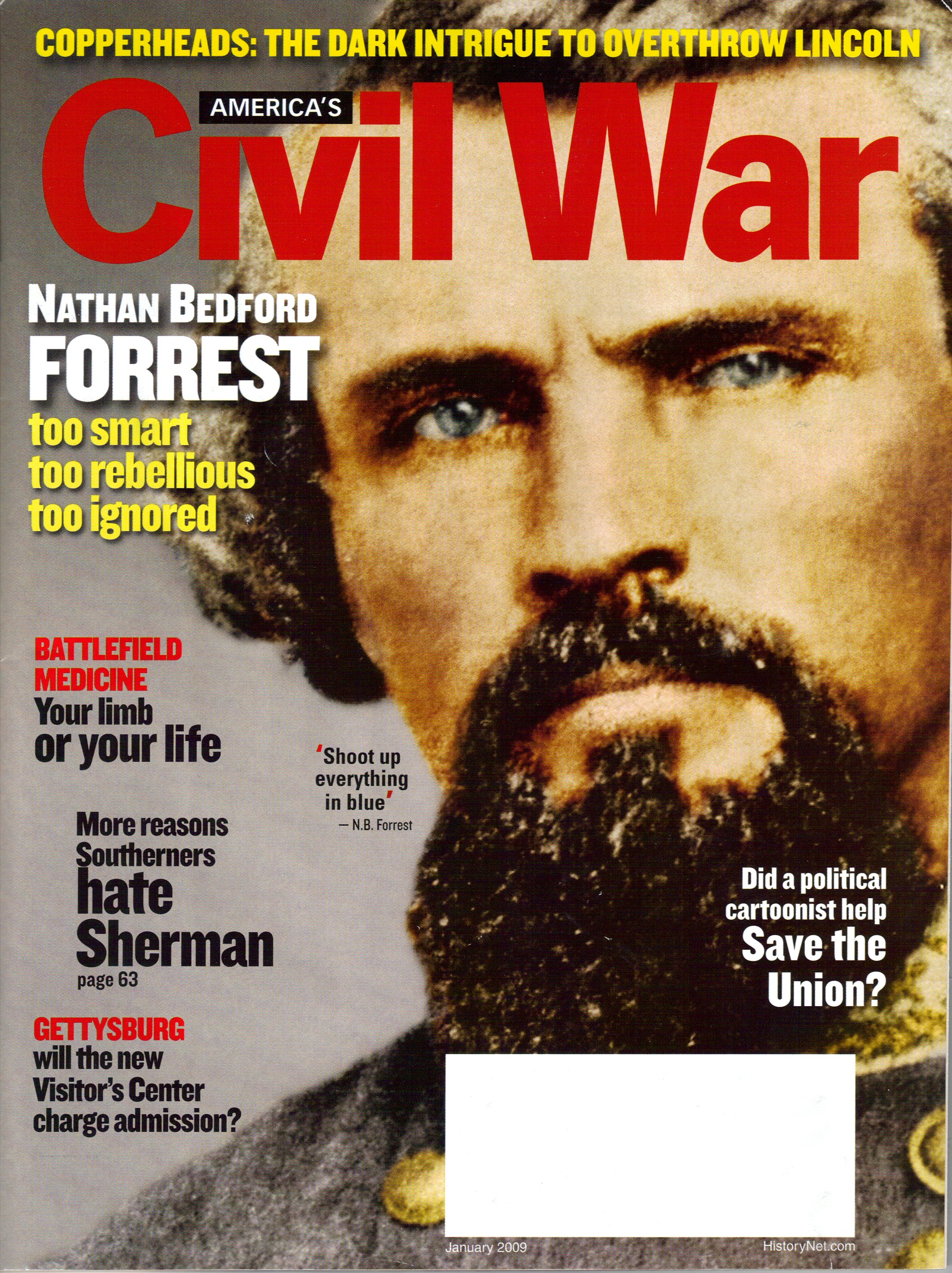 Americas Civil War, Volume 21, Number 6 (January 2009)