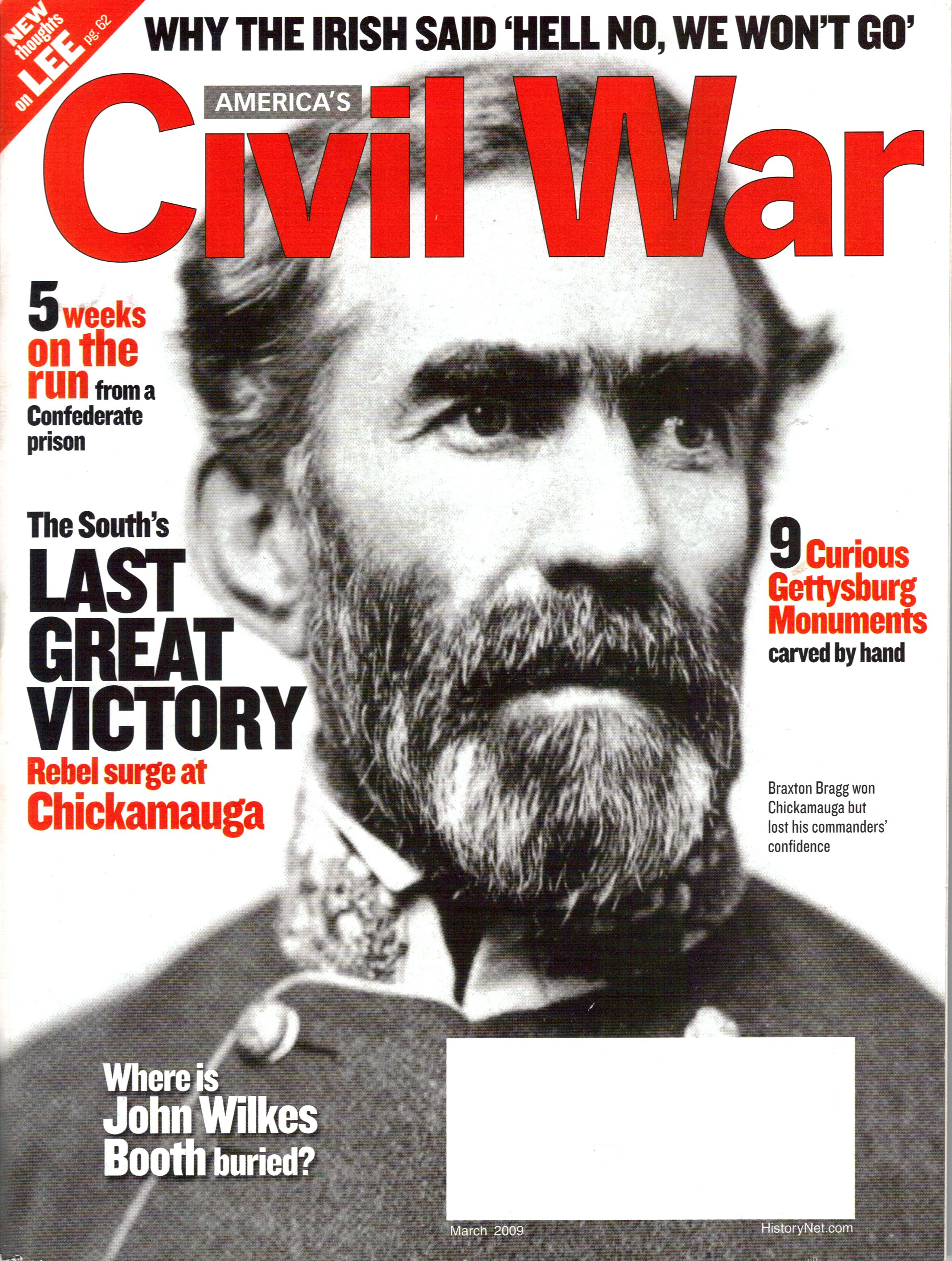 Americas Civil War, Volume 22, Number 1 (March 2009)