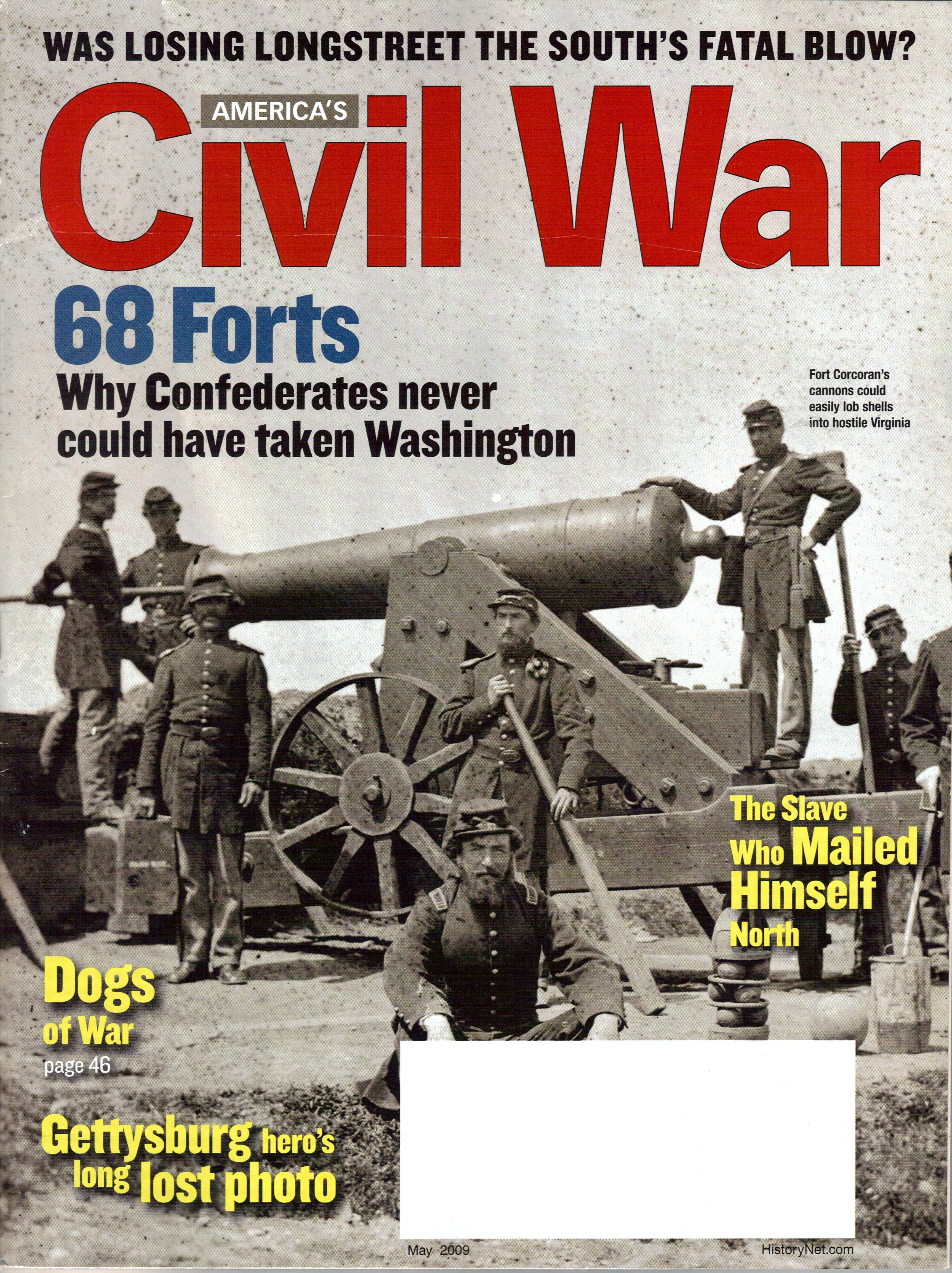Americas Civil War, Volume 22, Number 2 (May 2009)