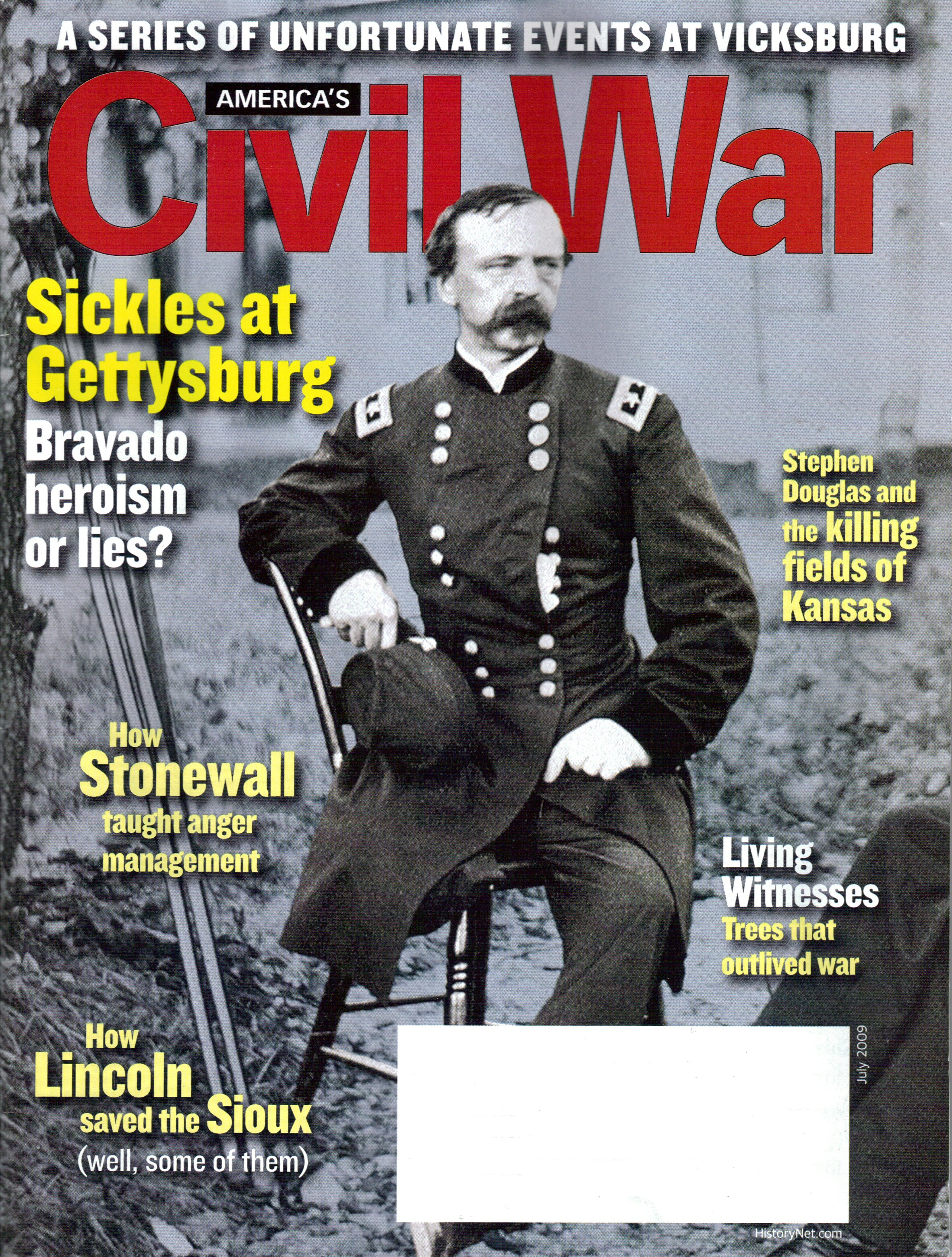 Americas Civil War, Volume 22, Number 3 (July 2009)