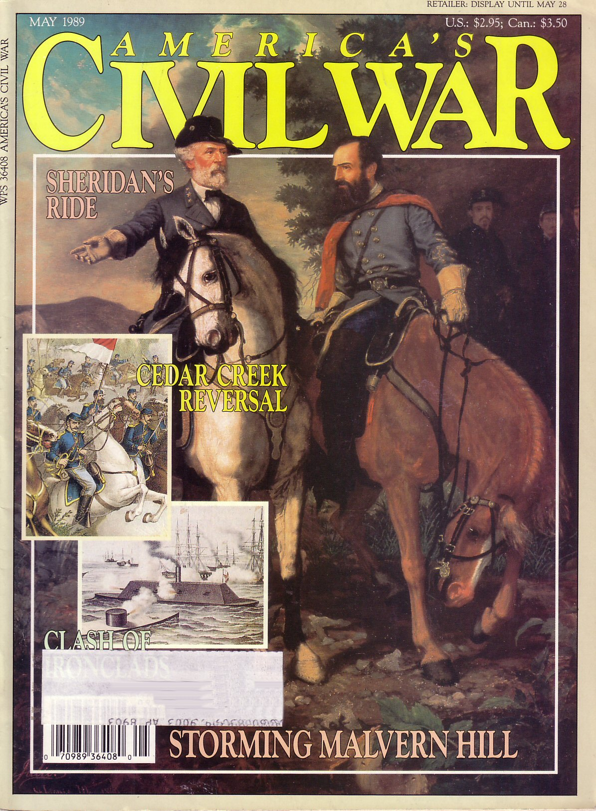 Americas Civil War, Volume 2, Number 1 (May 1989)