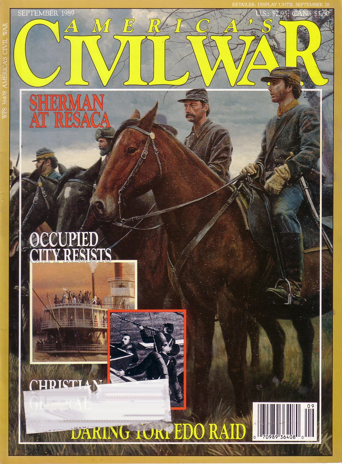 Americas Civil War, Volume 2, Number 3 (September 1989)