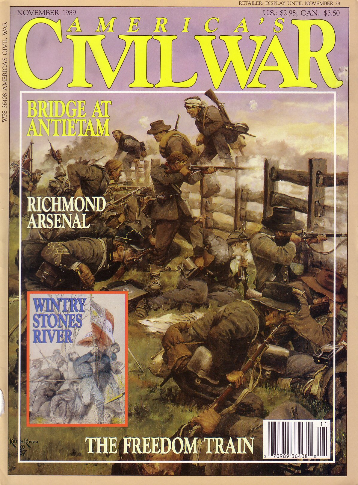 Americas Civil War, Volume 2, Number 4 (November 1989)