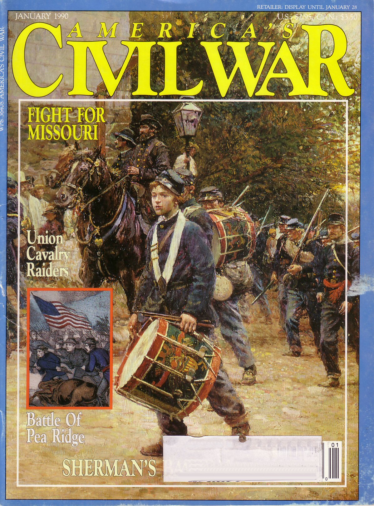 Americas Civil War, Volume 2, Number 5 (January 1990)
