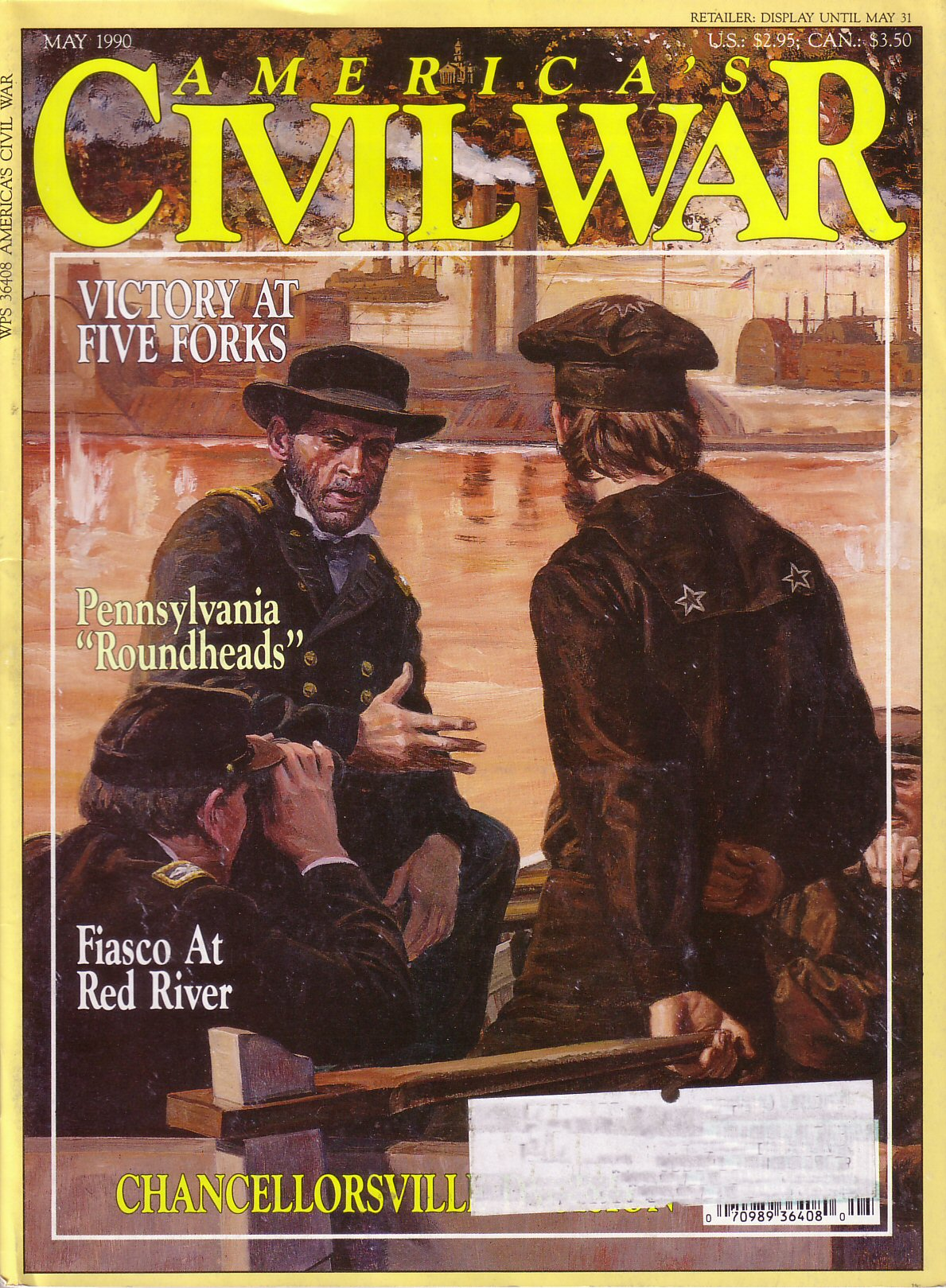 Americas Civil War, Volume 3, Number 1 (May 1990)