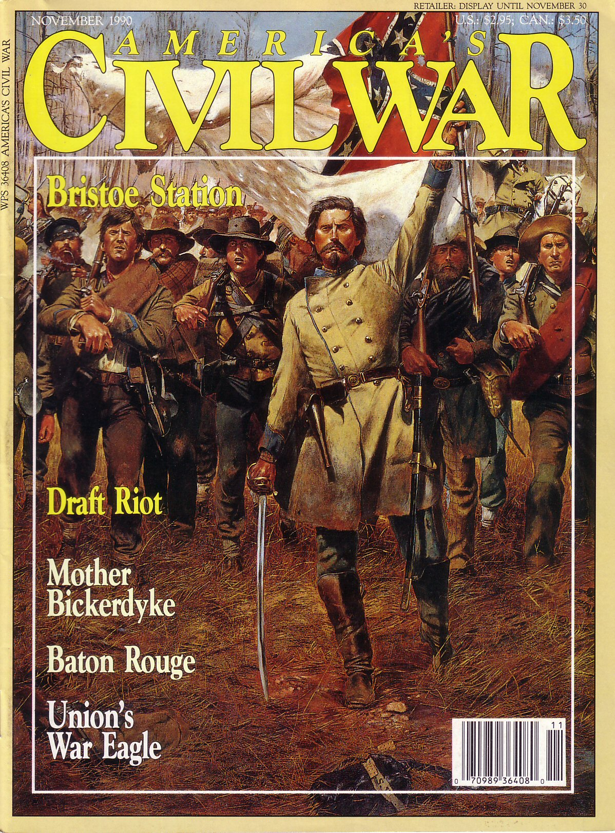 Americas Civil War, Volume 3, Number 4 (November 1990)