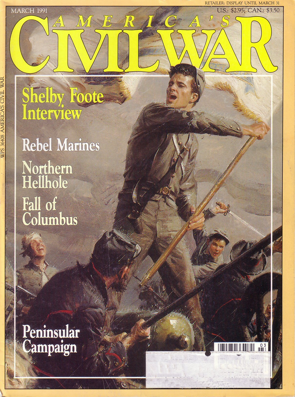 Americas Civil War, Volume 3, Number 6 (March 1991)