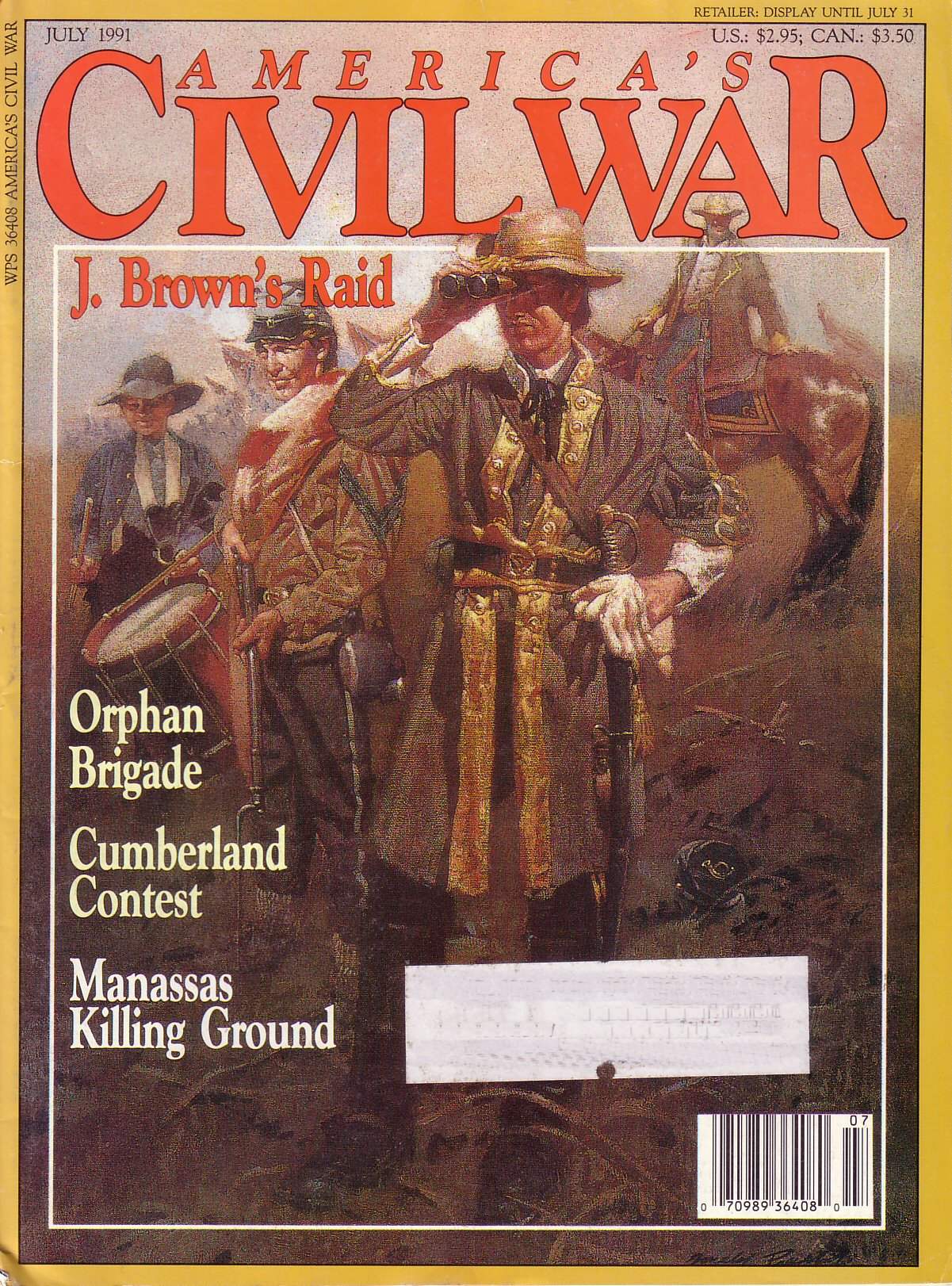 Americas Civil War, Volume 4, Number 2 (July 1991)