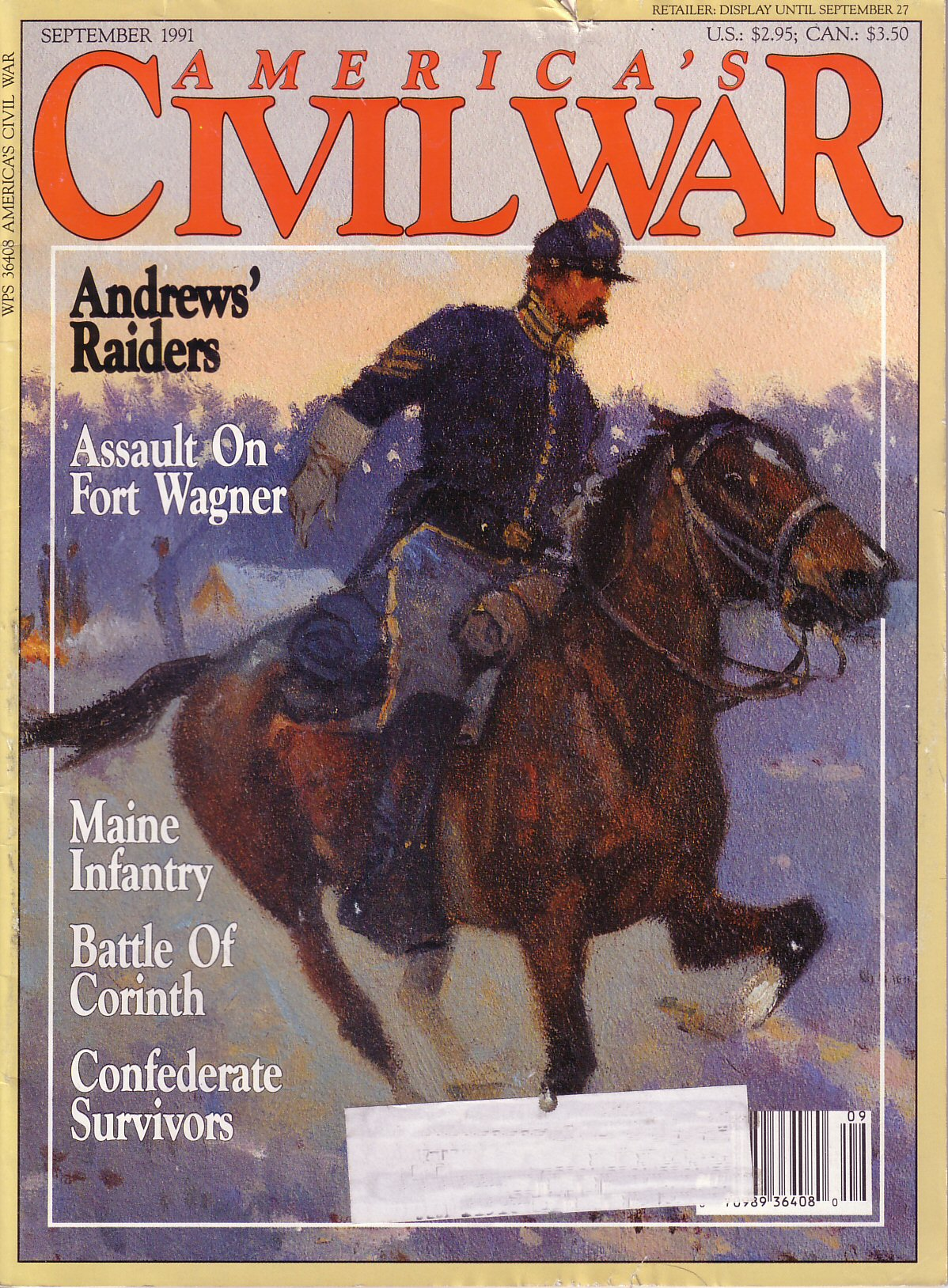 Americas Civil War, Volume 4, Number 3 (September 1991)