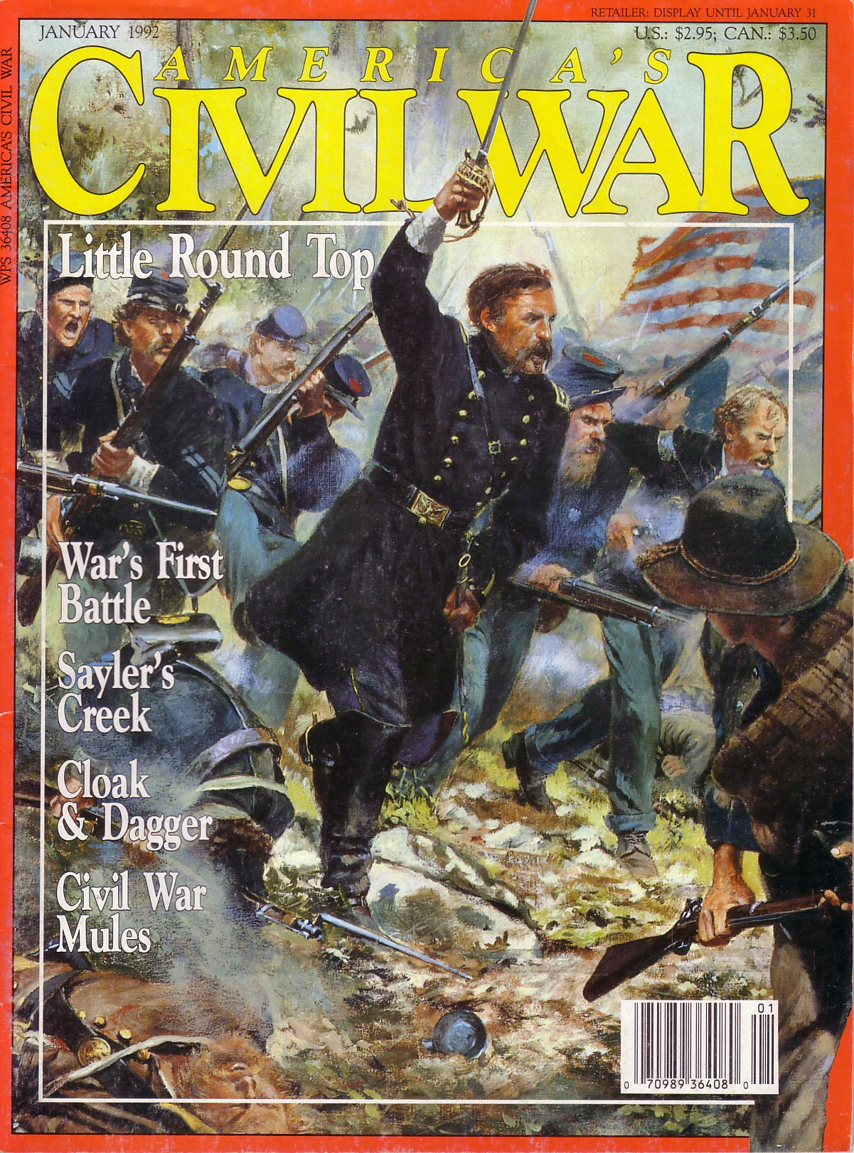 Americas Civil War Volume 4, Number 5 (January 1992)