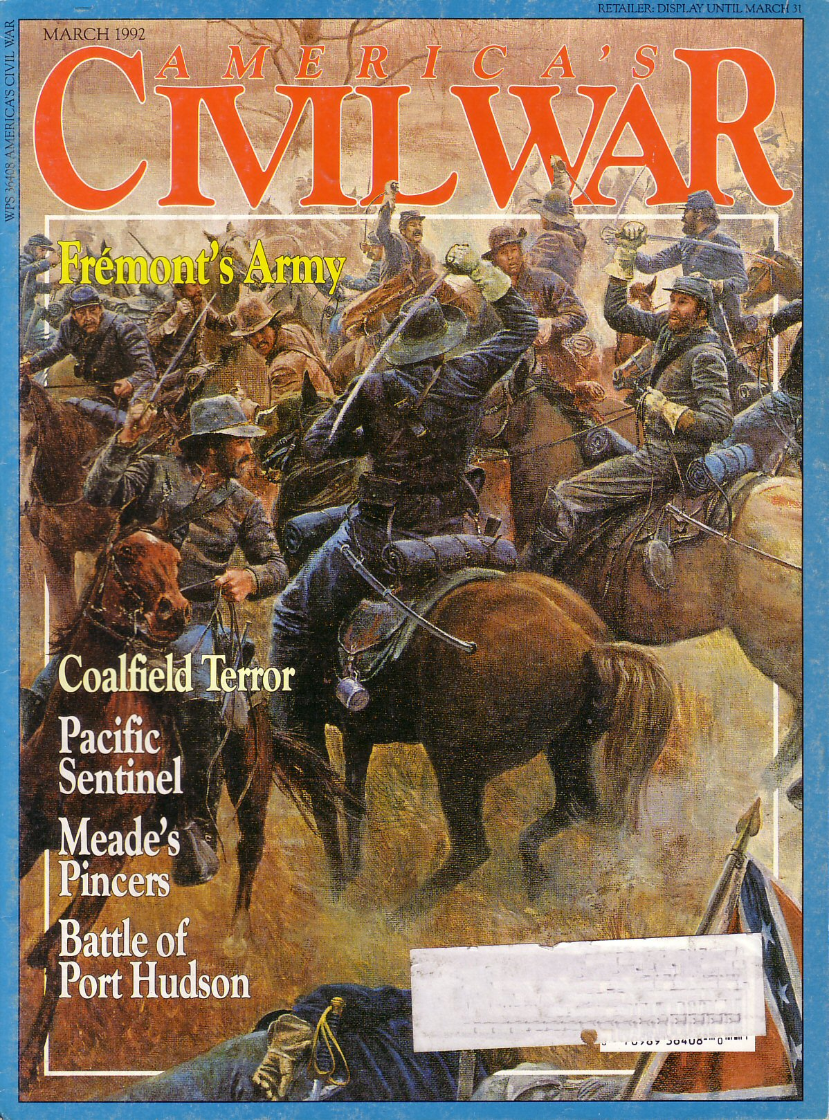 Americas Civil War, Volume 4, Number 6 (March 1992)