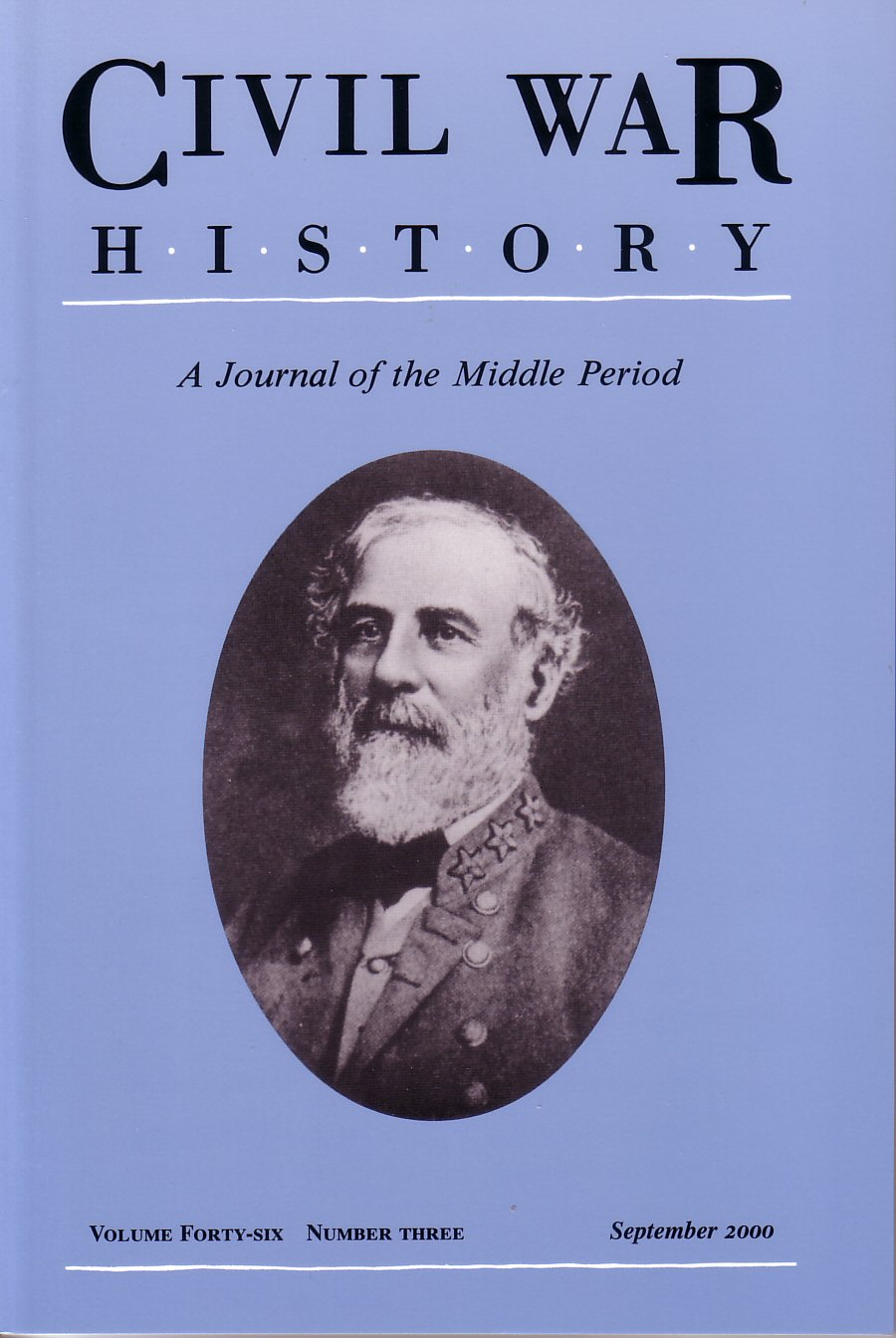 Civil War History, Volume 46, Number 3 (September 2000)