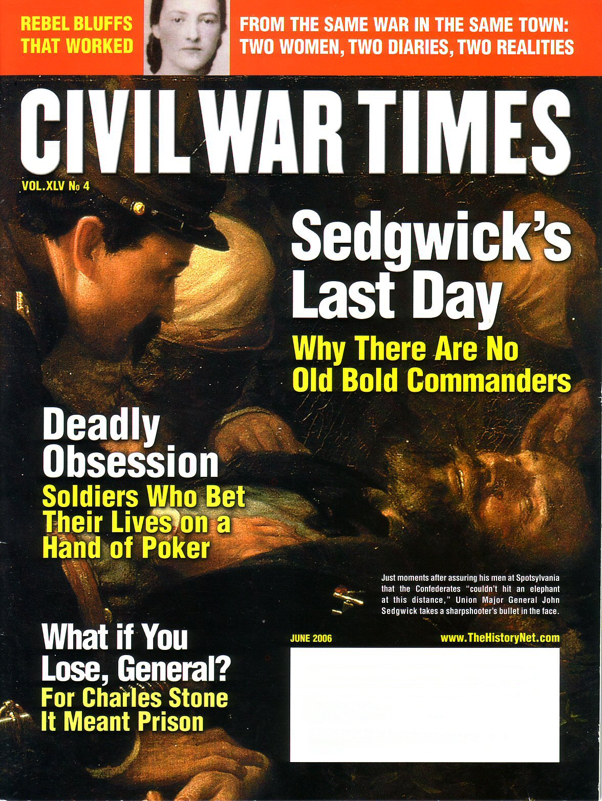 Civil war Times, Volume 45, Number 4 (June 2006)