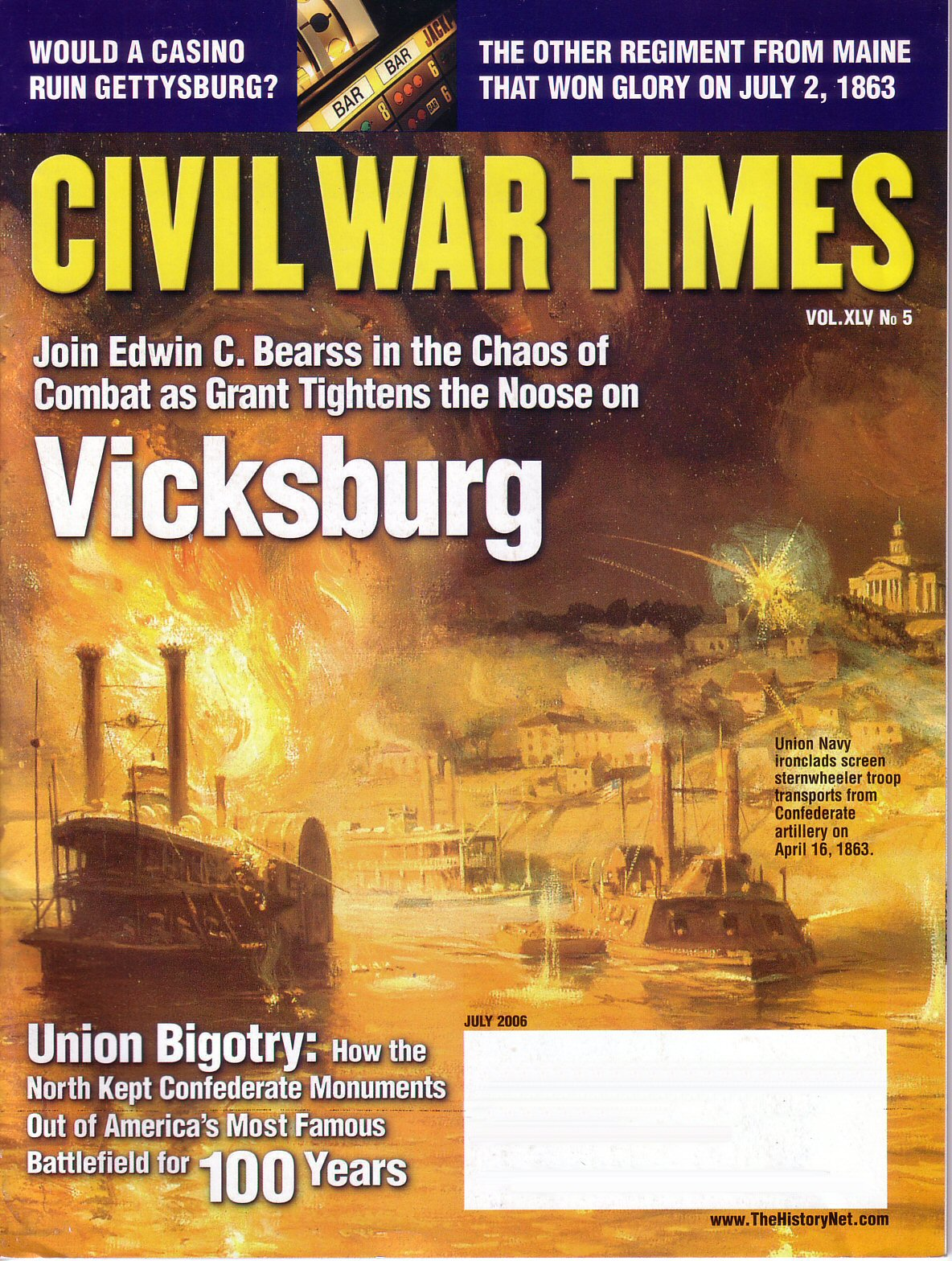 Civil War Times, Volume 45, Number 5 (July 2006)
