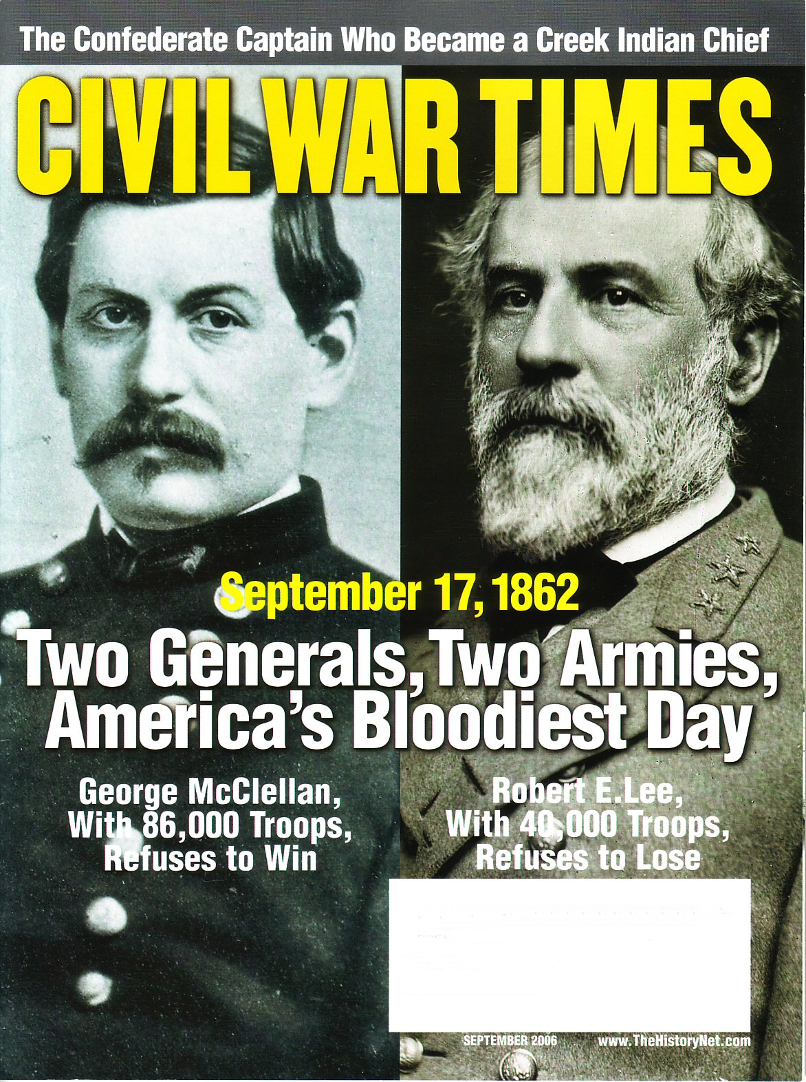 Civil War Times, Volume 45, Number 7 (September 2006)