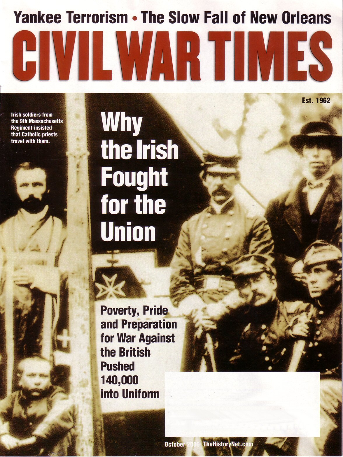 Civil War Times, Volume 45, Number 8 (October 2006)