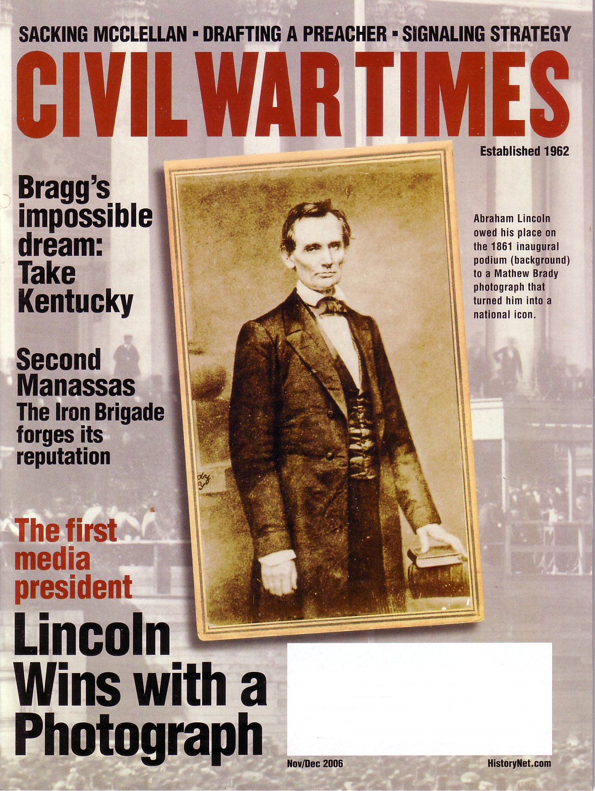 Civil War Times, Volume 45, Number 9 (November/December 2006)