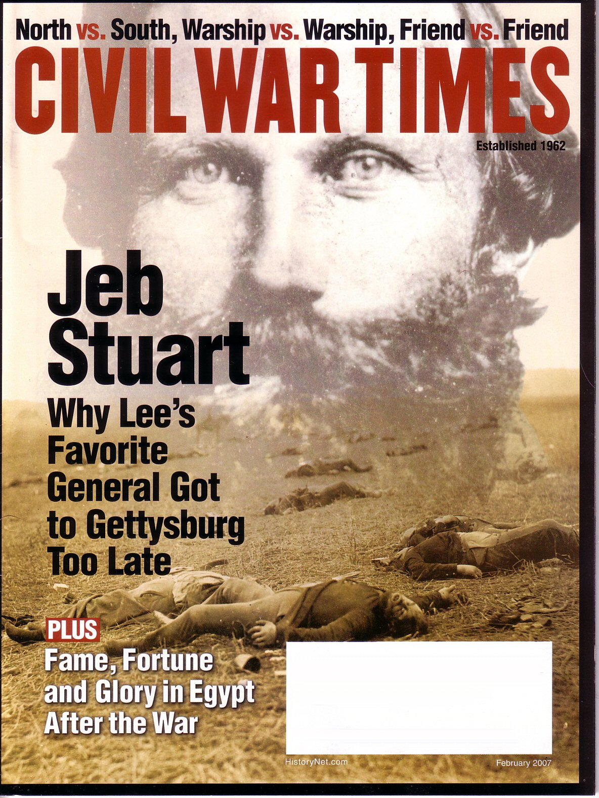 Civil War Times, Volume 46, Number 1 (February 2007)