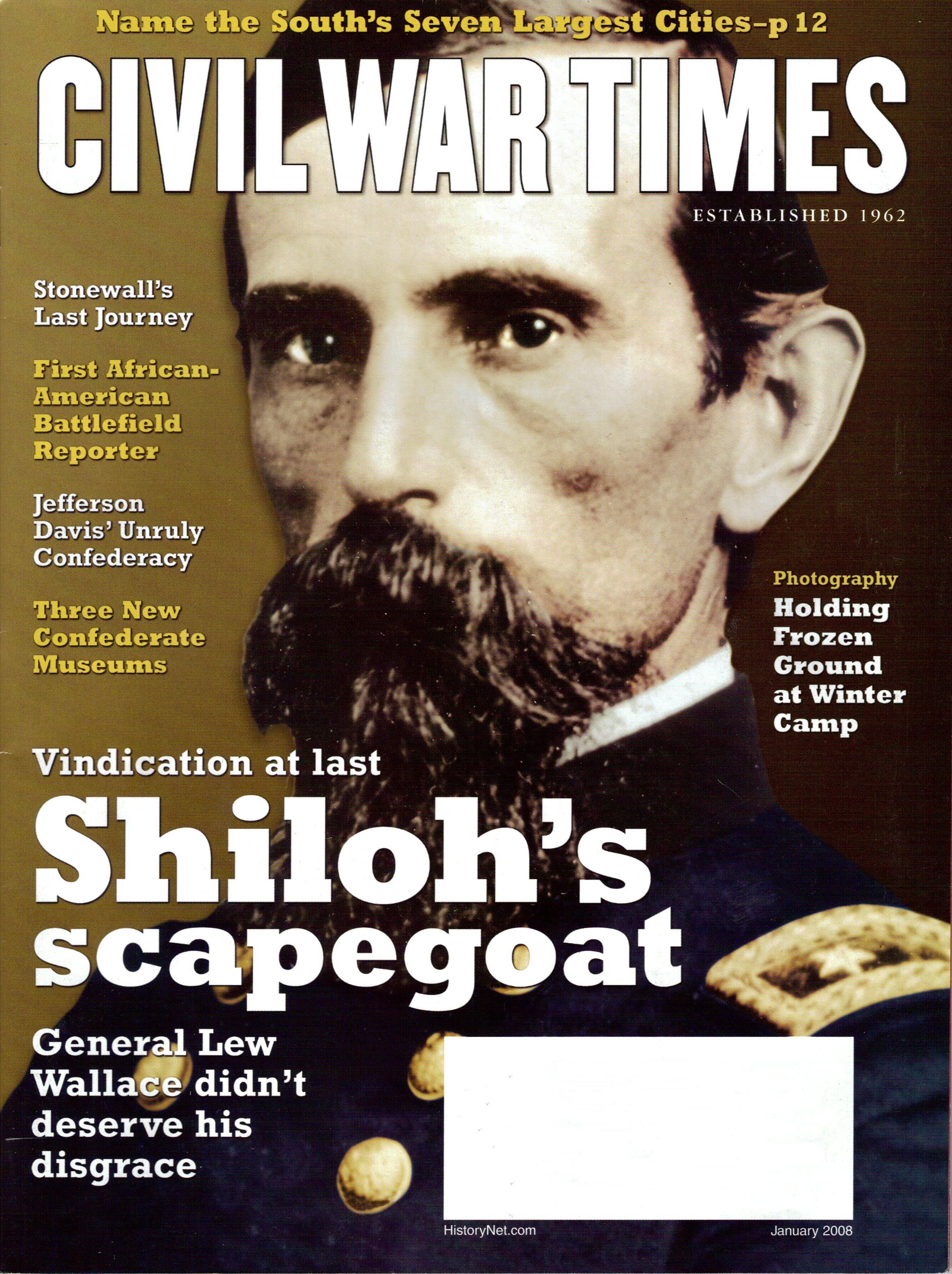 Civil War Times, Volume 46, Number 10 (January 2008)