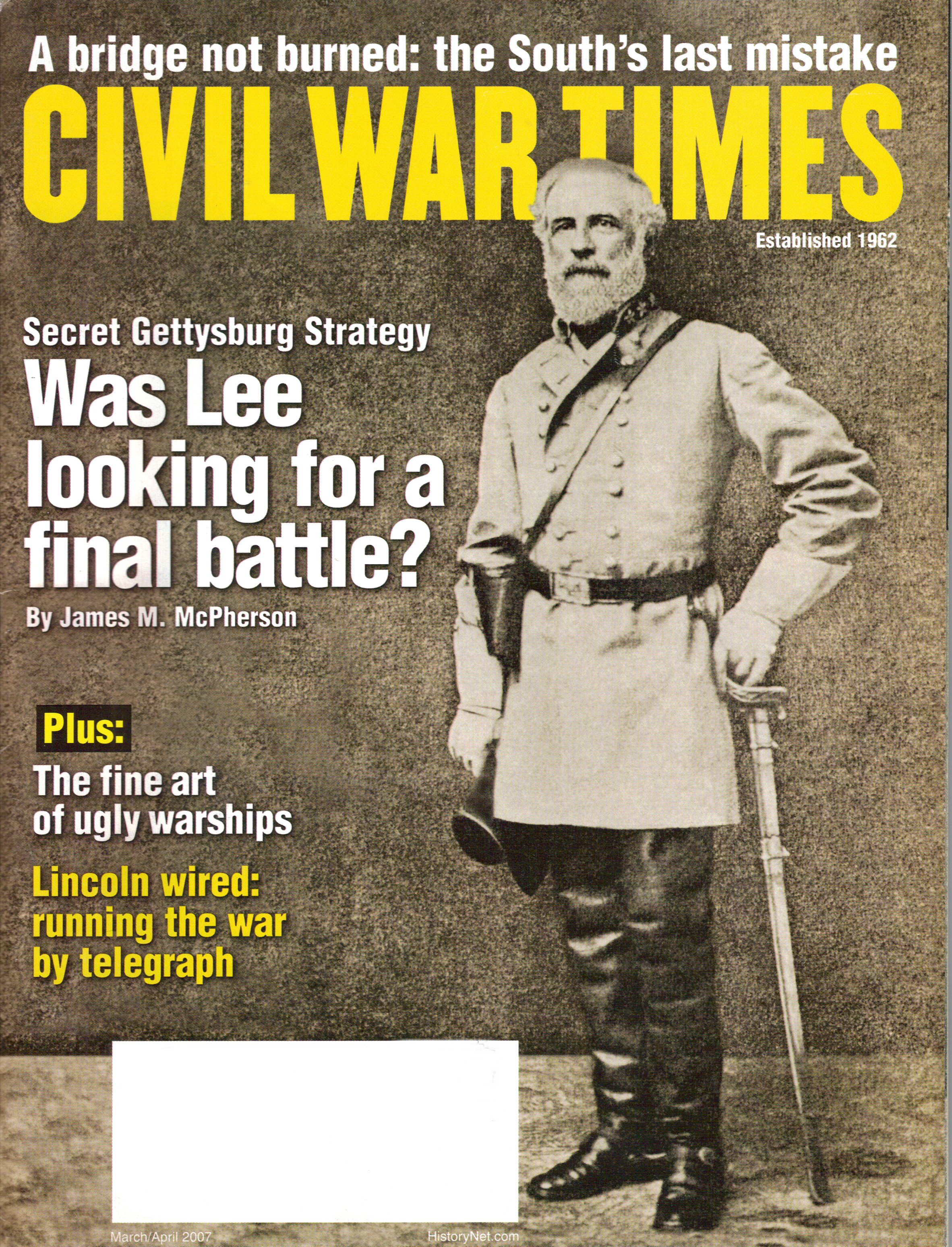Civil War Times, Volume 46, Number 2 (March/April 2007)