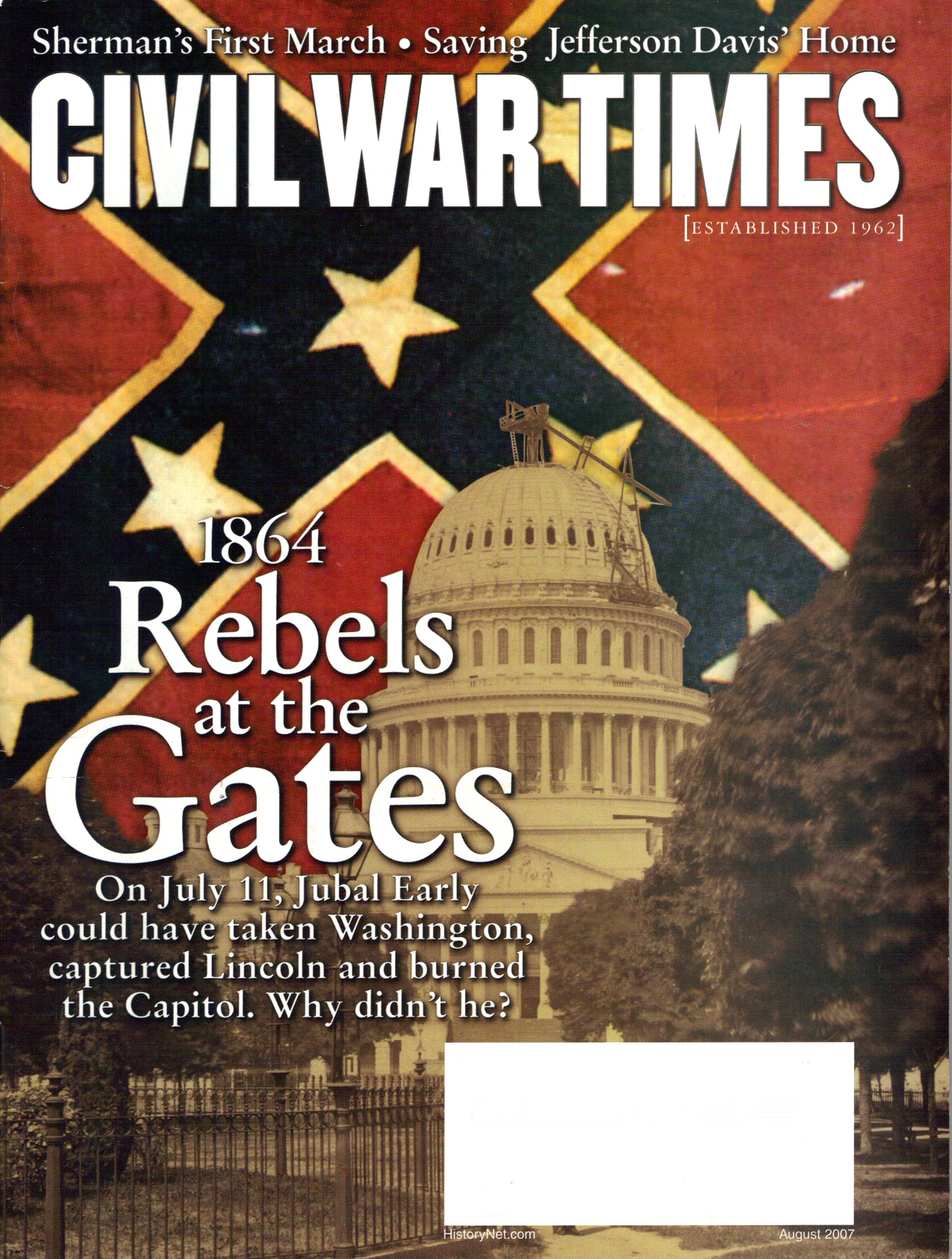 Civil War Times, Volume 46, Number 6 (August 2007)