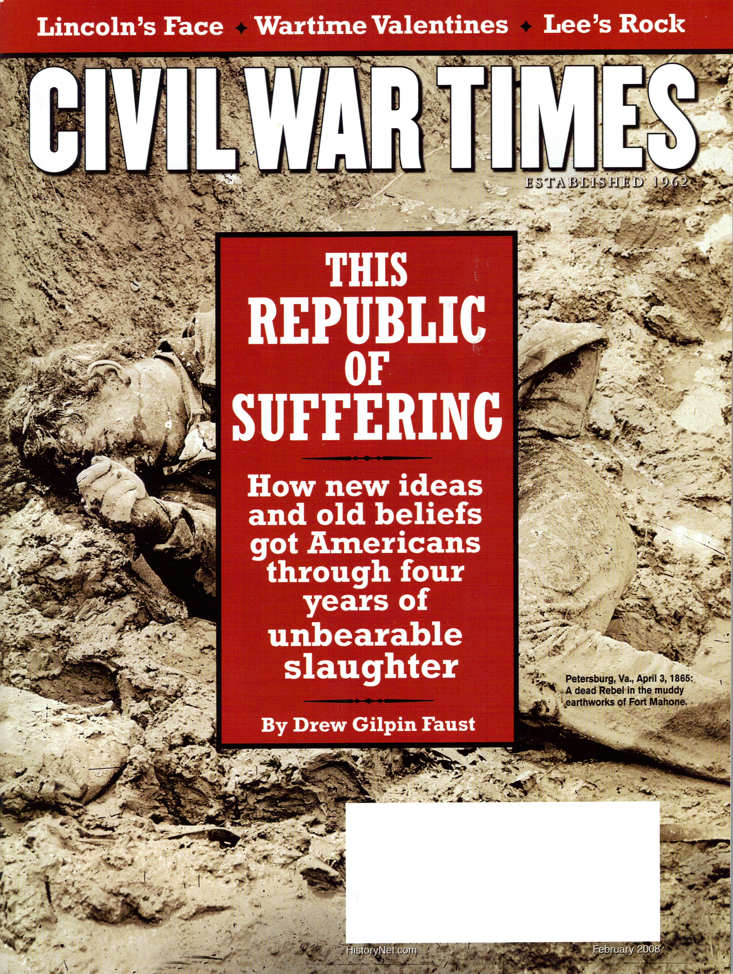 Civil War Times, Volume 47, Number 1 (February 2008)