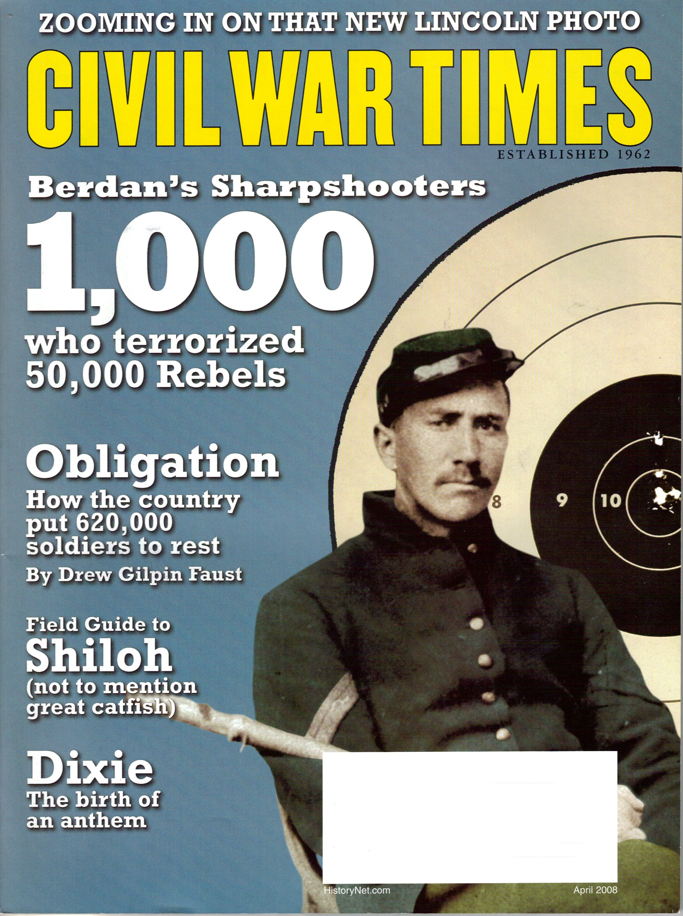 Civil War Times, Volume 47, Number 2 (April 2008)