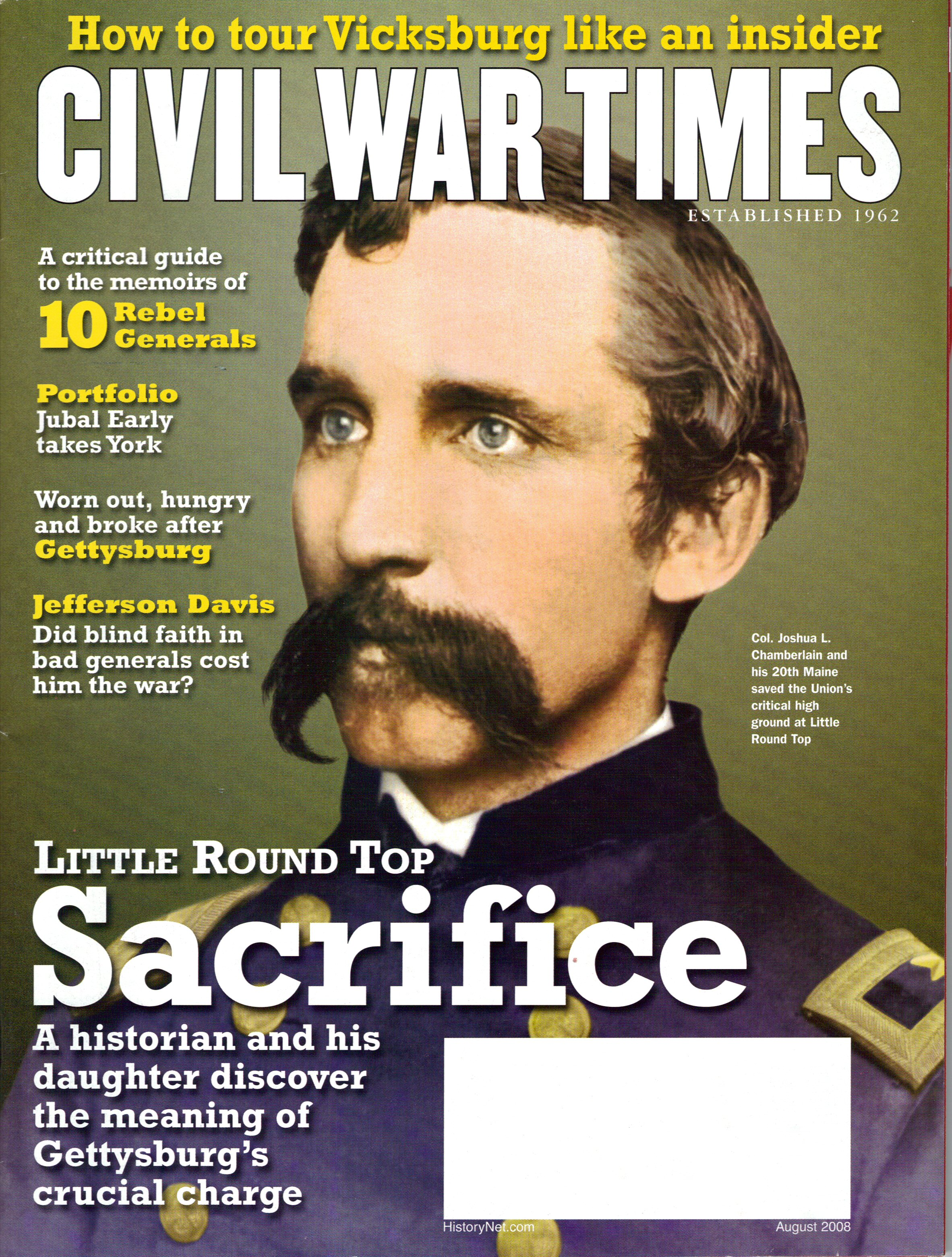 Civil War Times, Volume 47, Number 4 (August 2008)