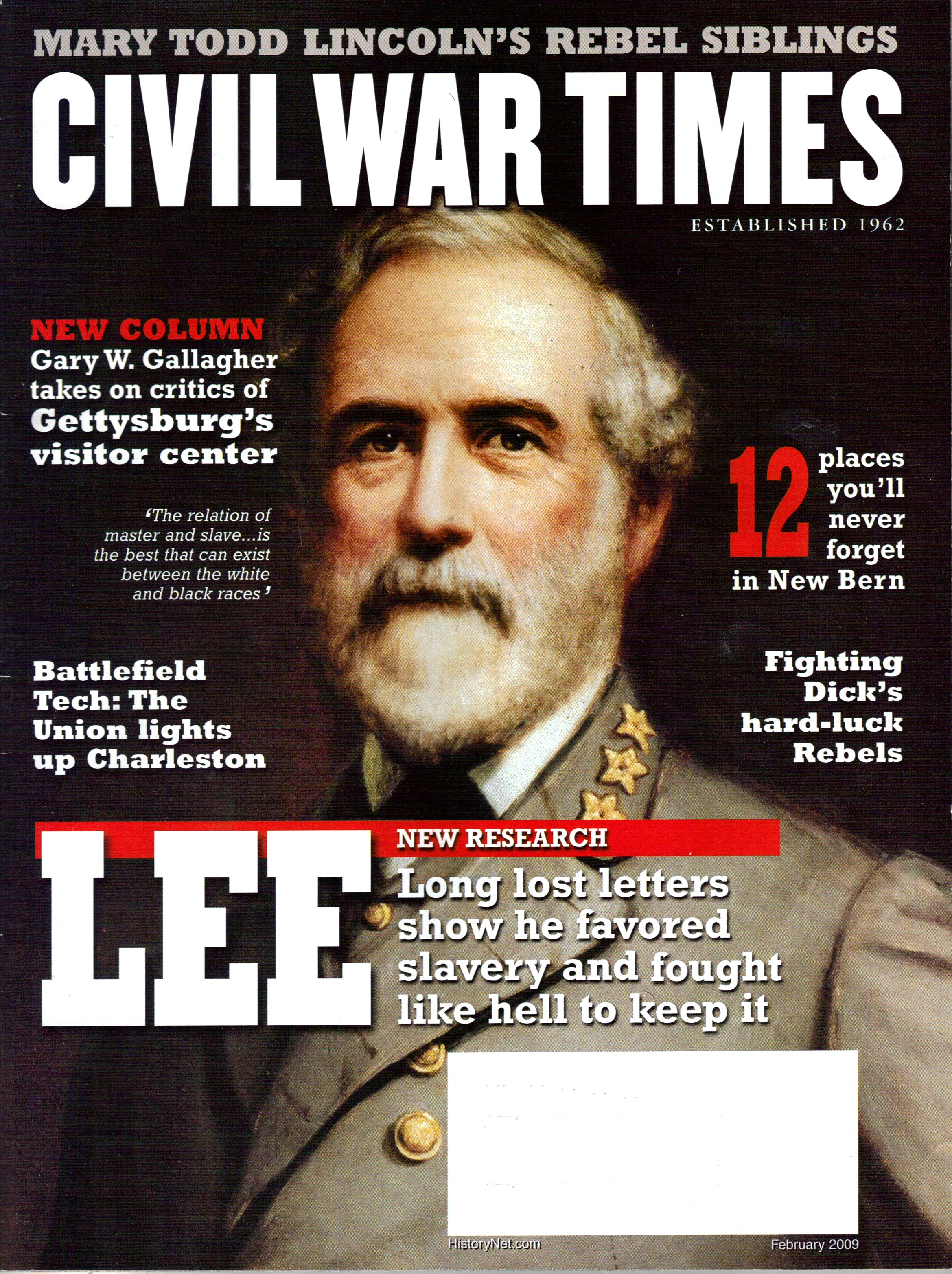 Civil War Times, Volume 48, Number 1 (February 2009)