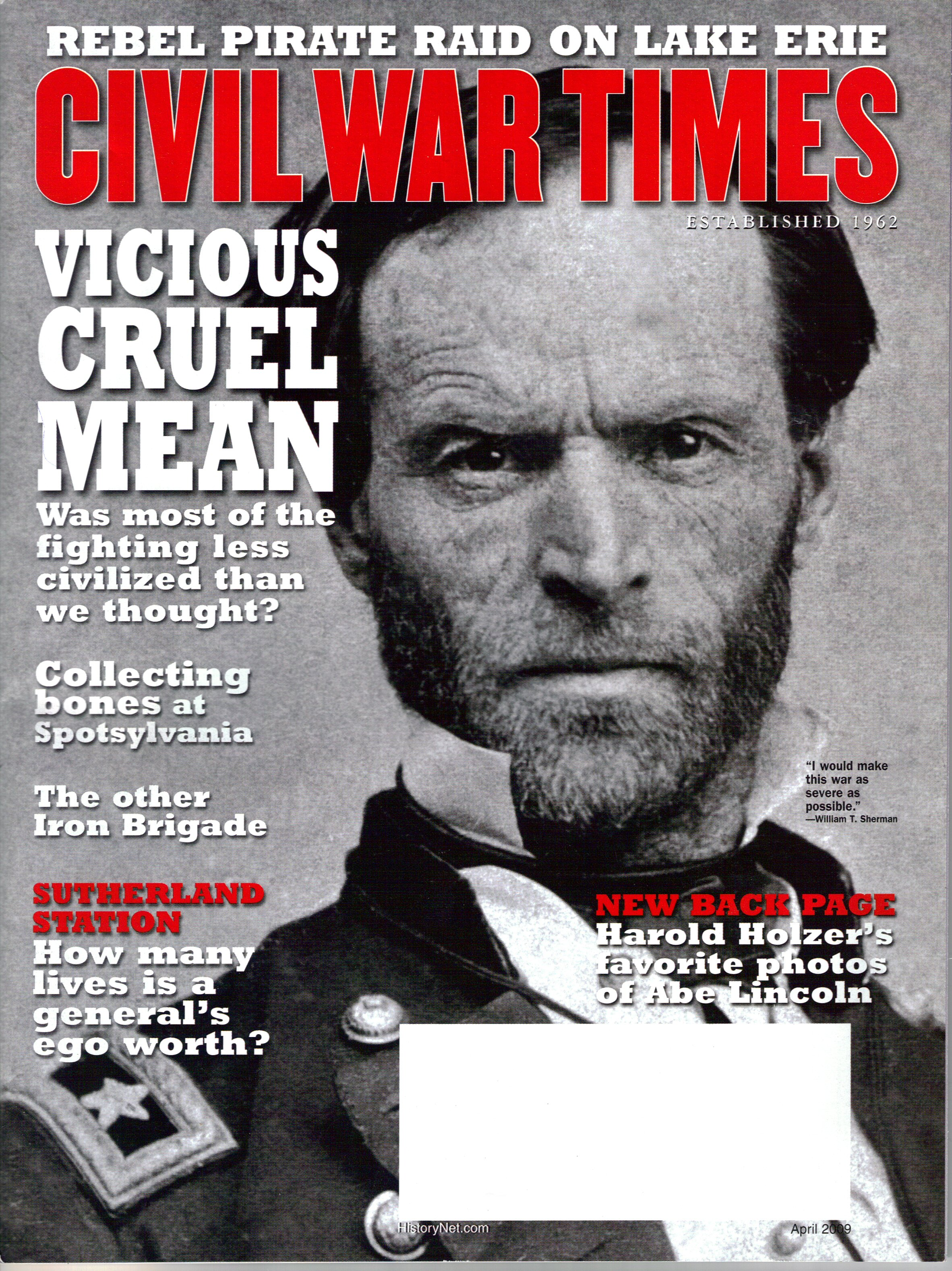 Civil War Times, Volume 48, Number 2 (April 2009)