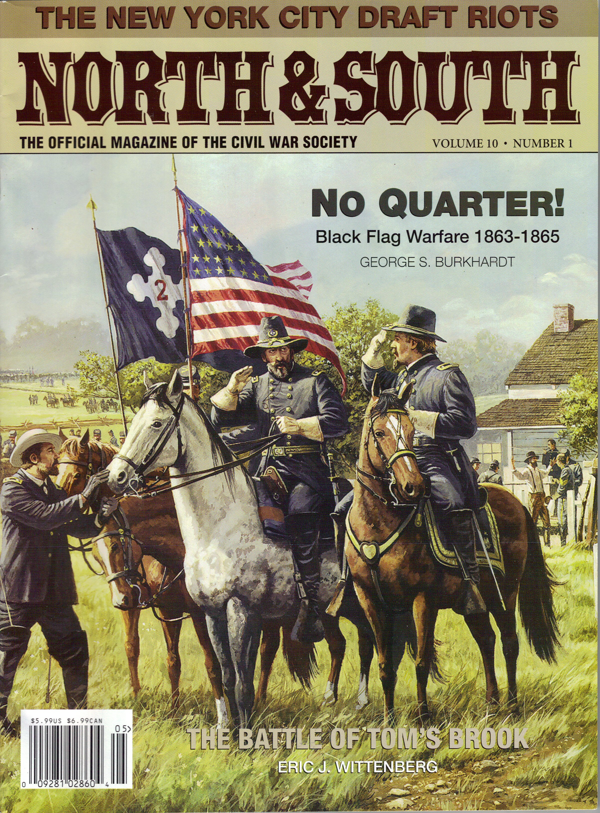 North & South Magazine, Volume 10, Number 1 (May 2007)