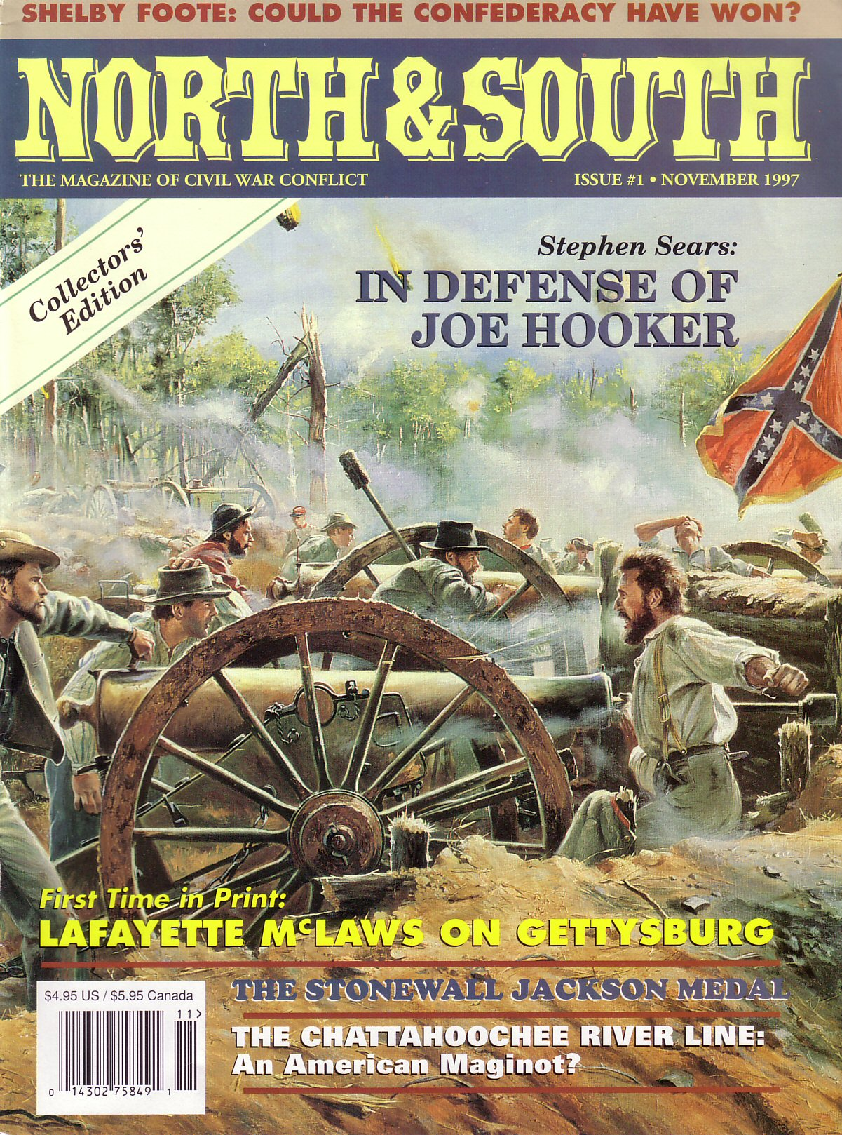 North & South Magazine, Volume 1, Number 1 (November 1997)