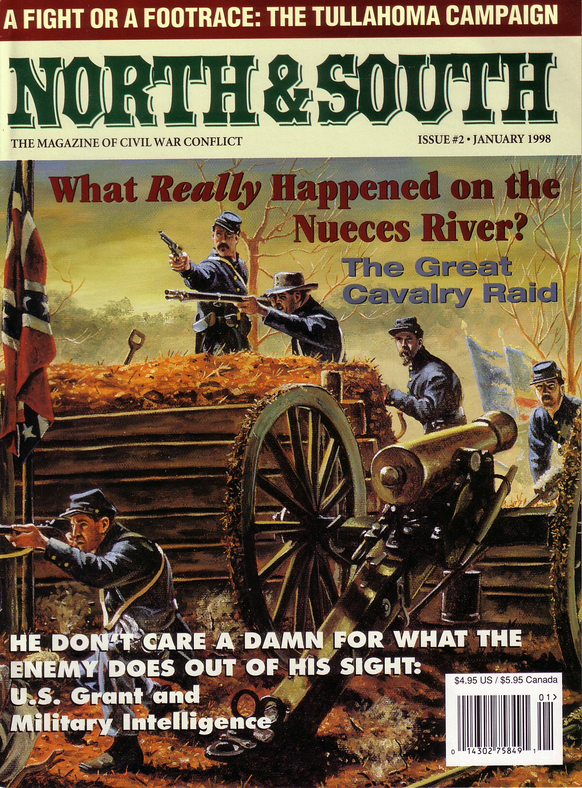 North & South Magazine, Volume 1, Number 2 (January 1998)