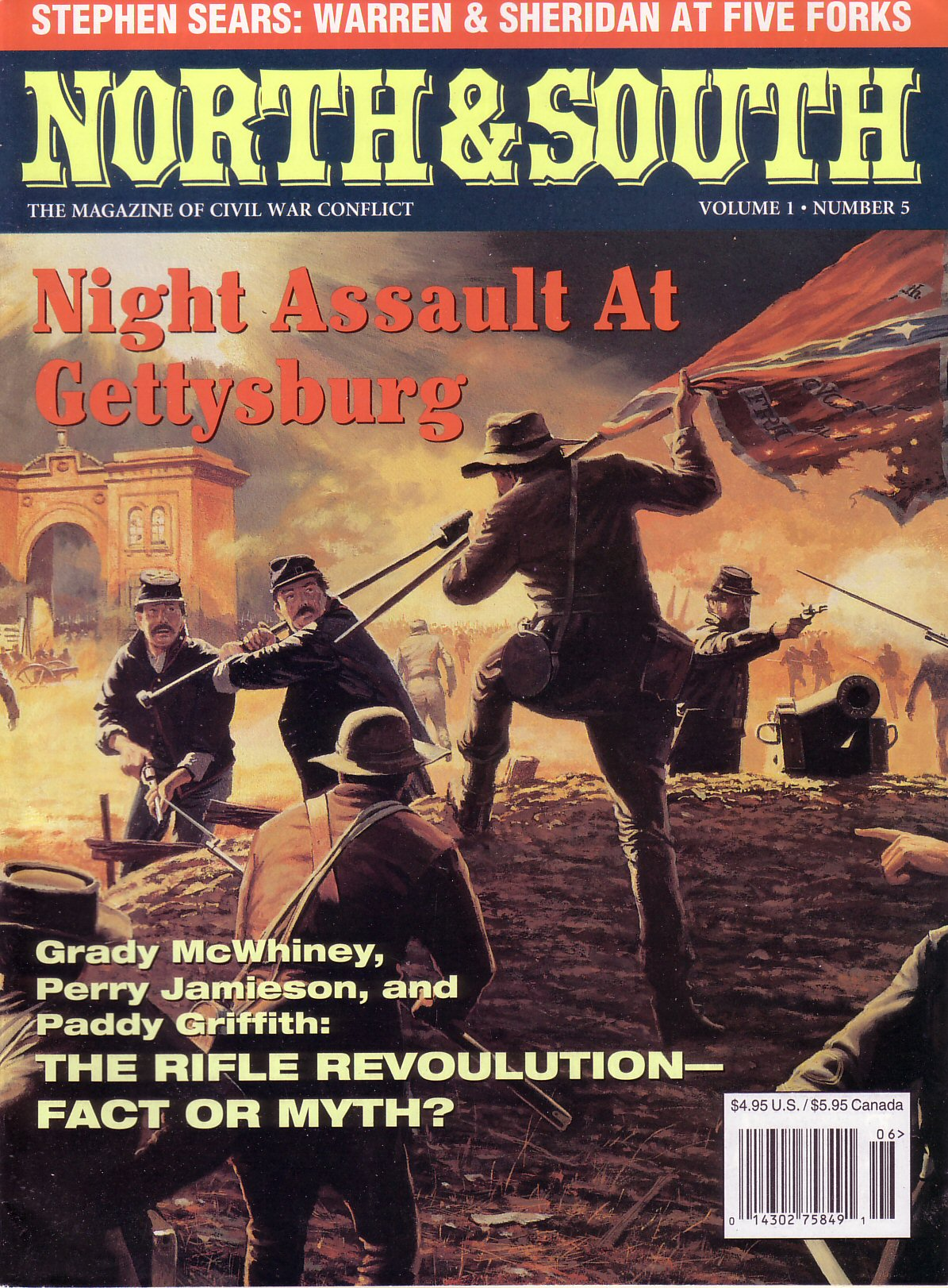 North & South Magazine, Volume 1, Number 5 (1998)