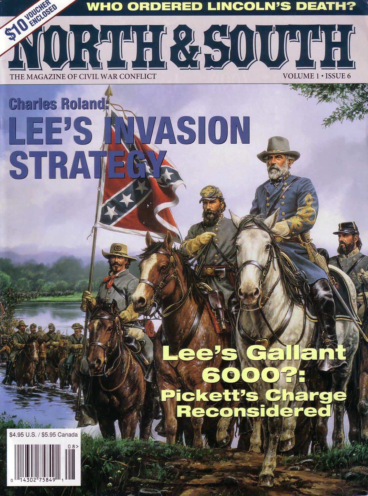 North & South Magazine, Volume 1, Number 6 (1998)